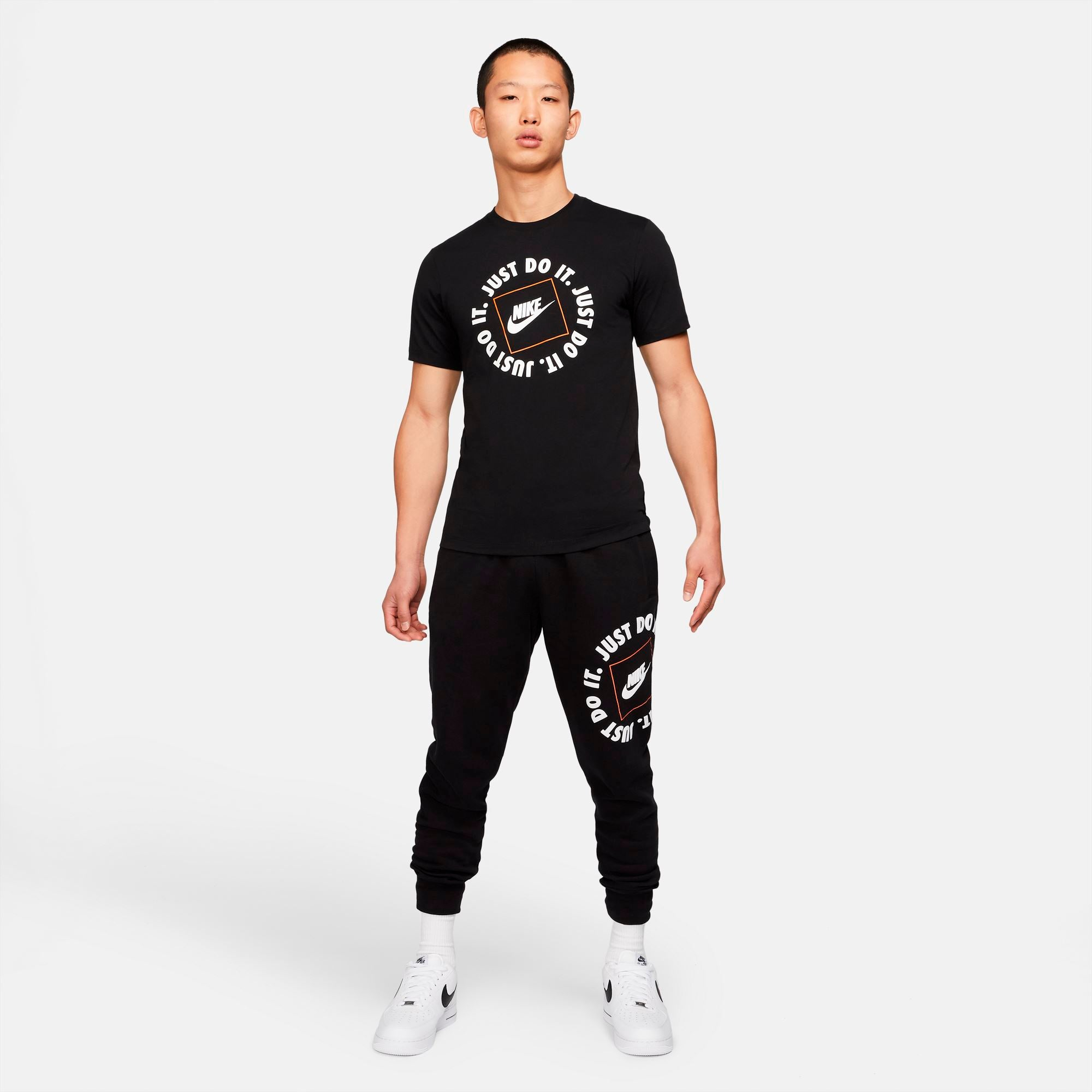 Nike Mens Sportswear JDI Tee - Black SP-ApparelTees-Mens Nike