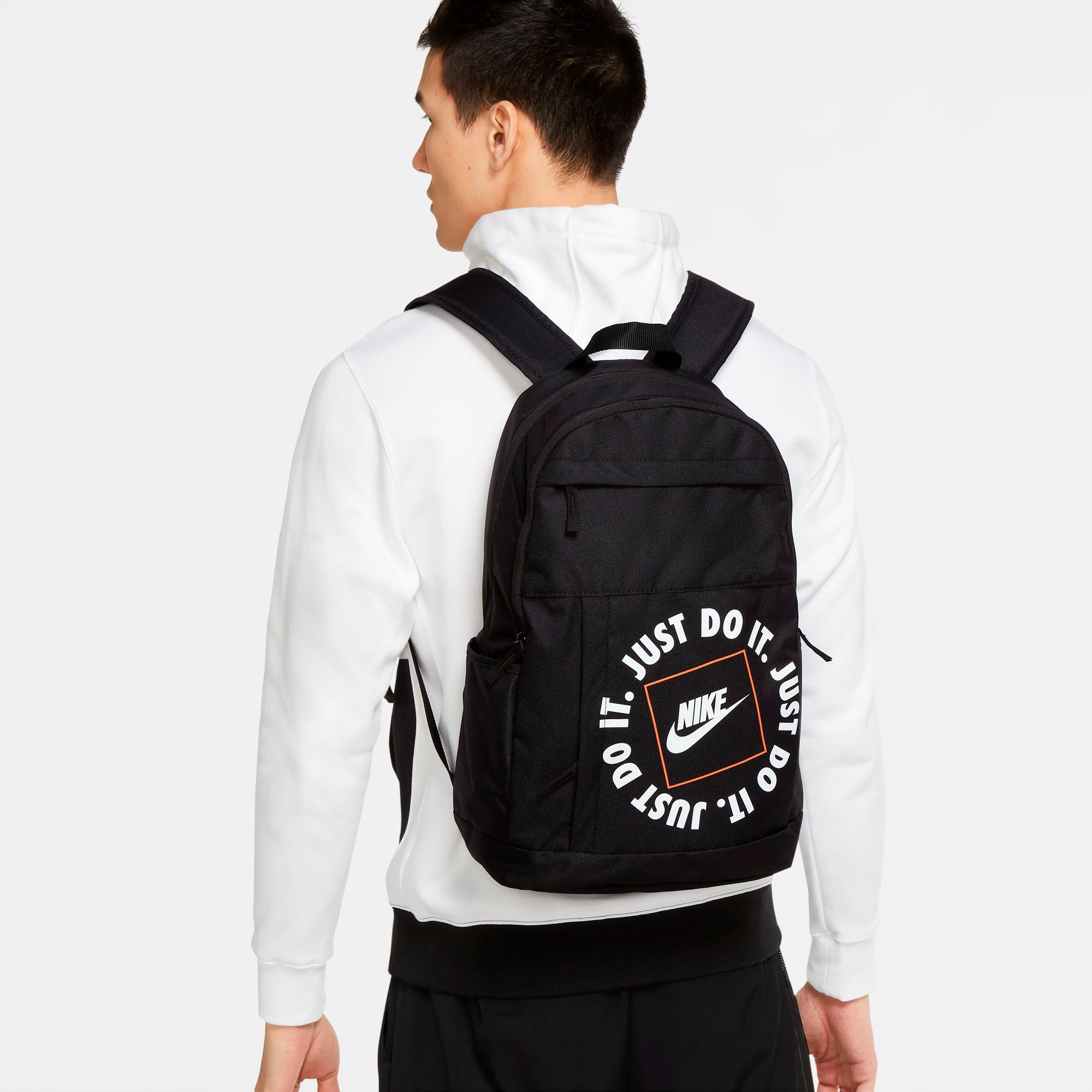 Nike Elemental JDI Backpack - Black/Black/White SP-Accessories-Bags Nike
