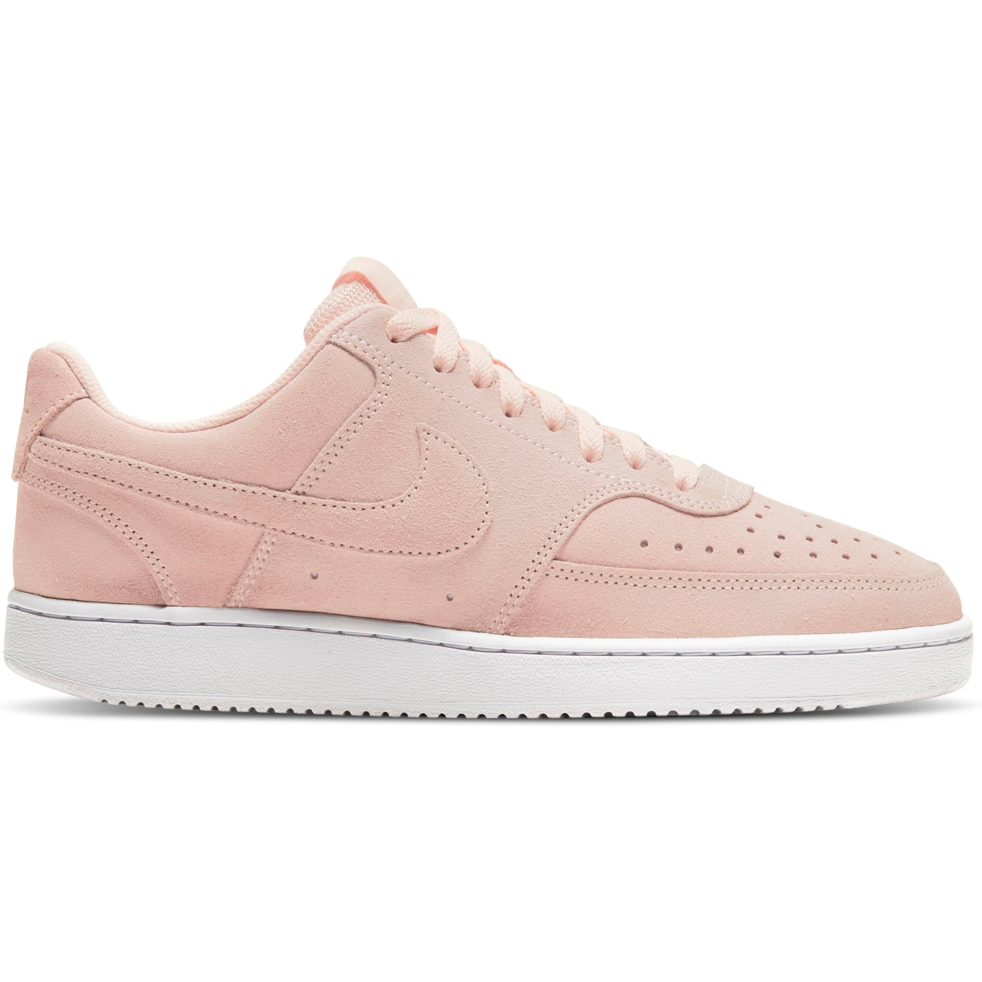 Nike Womens Court Vision Low - Orange Pearl/White SP-Footwear-Womens Nike