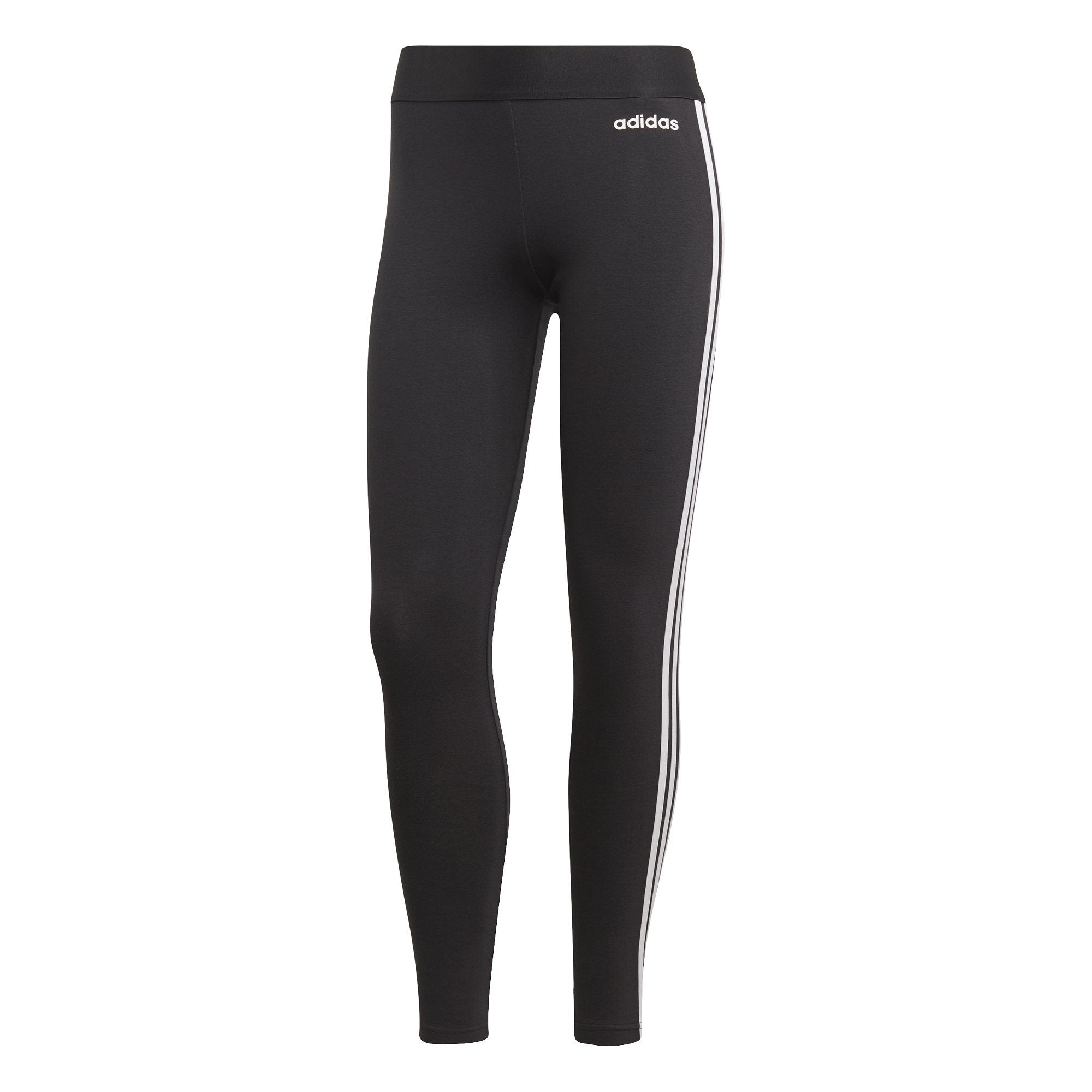 Adidas Womens Essentials 3-Stripes Tights - black/white