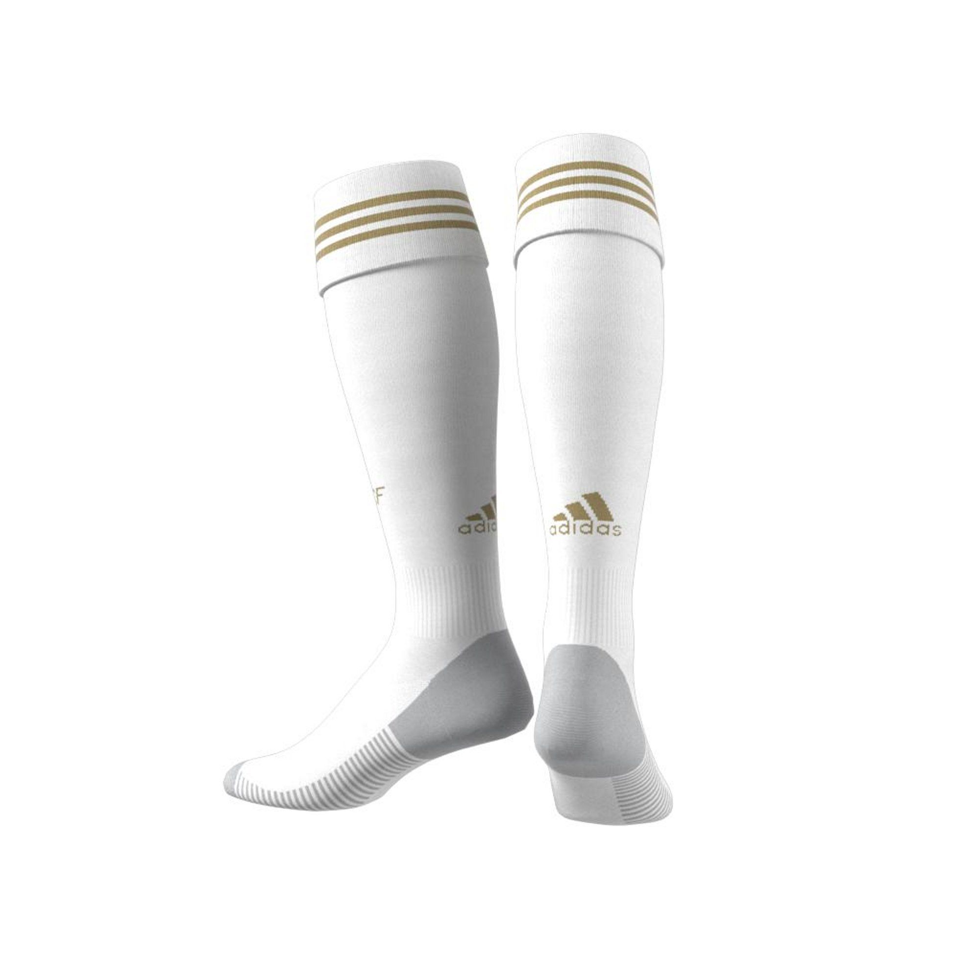 Adidas Real Madrid Home Socks - white