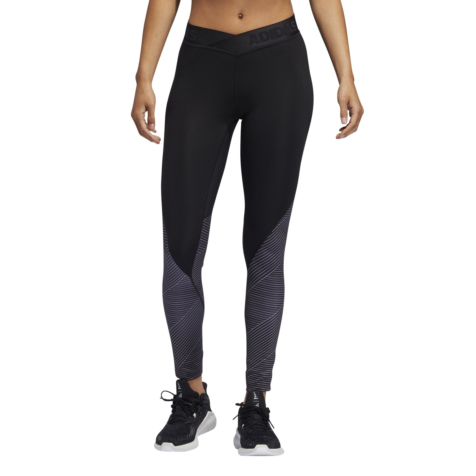 Adidas Womens Alphaskin 7/8 Tights - black SP-ApparelTights-Womens Adidas