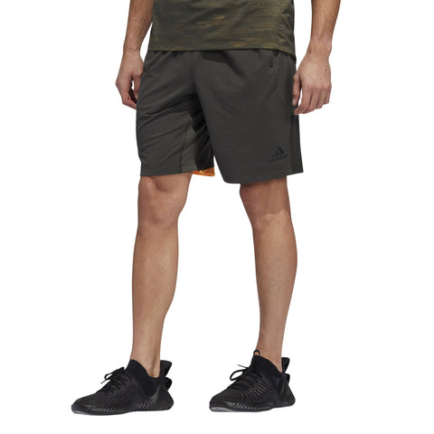 Adidas Mens 4KRFT Sport Ultimate 9-Inch Knit Shorts - legend earth SP-APPARELSHORTS-MENS Adidas