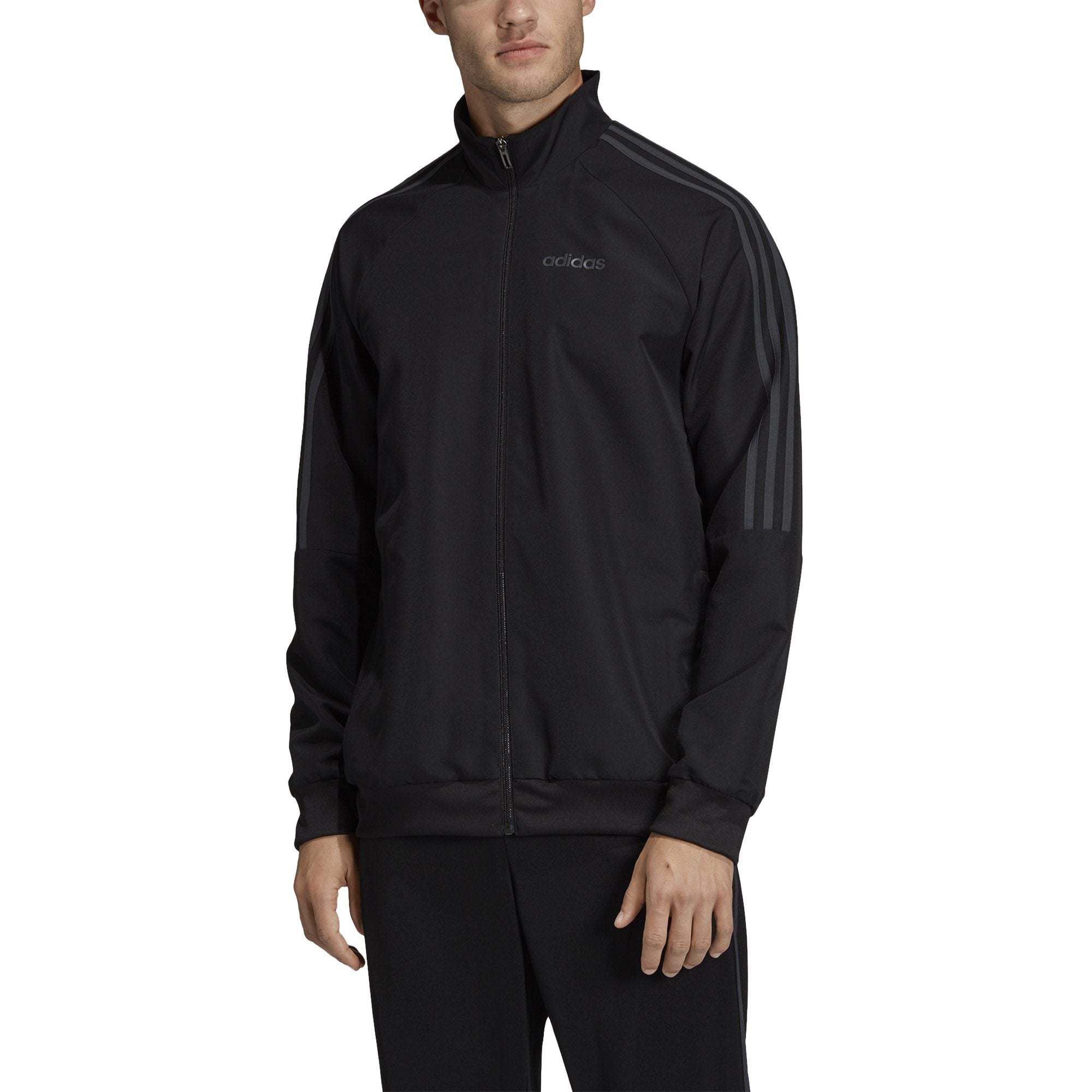 Adidas Mens Sereno 19 Presentation Jacket - Black/Dark Grey SP-ApparelJackets-Mens Adidas
