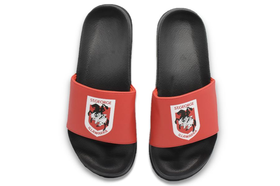 NRL Adults Slides - St George Illawarra Dragons Footwear Team Uggs