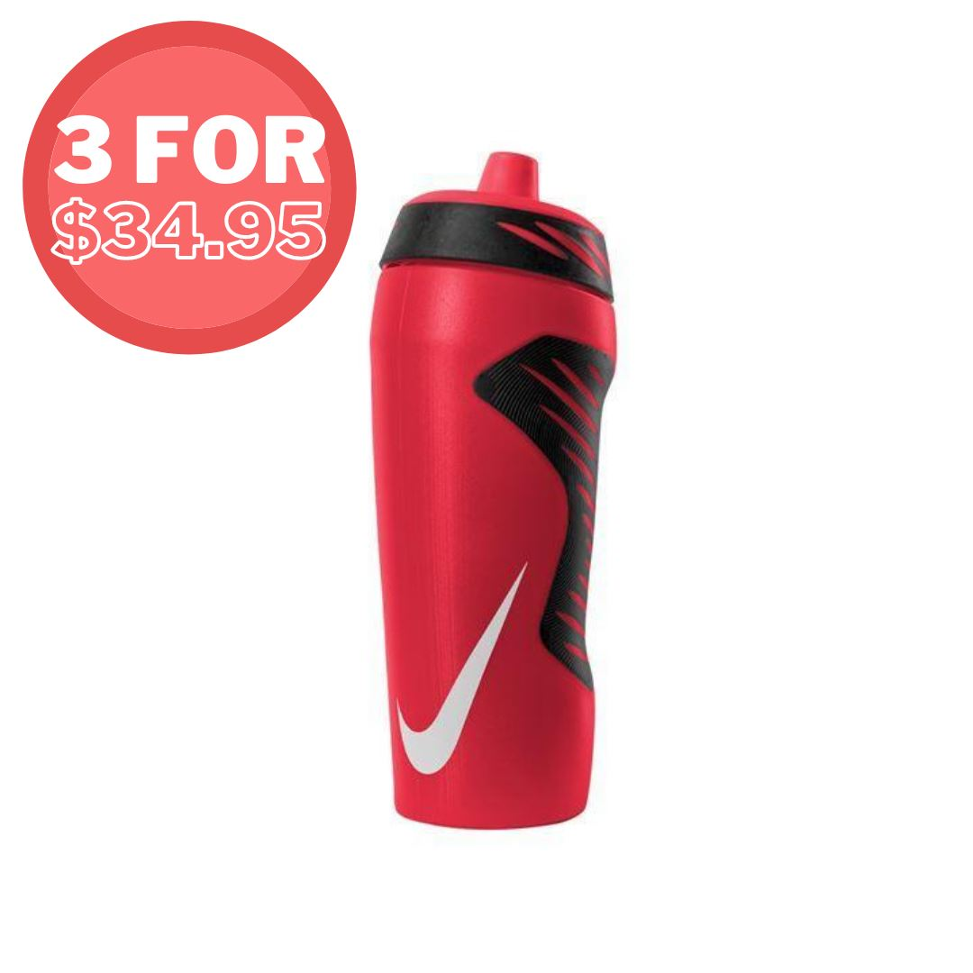 Nike Hyperfuel Water Bottle 532ml/18oz - Solar Red SP-Accessories-DrinkBottles Nike