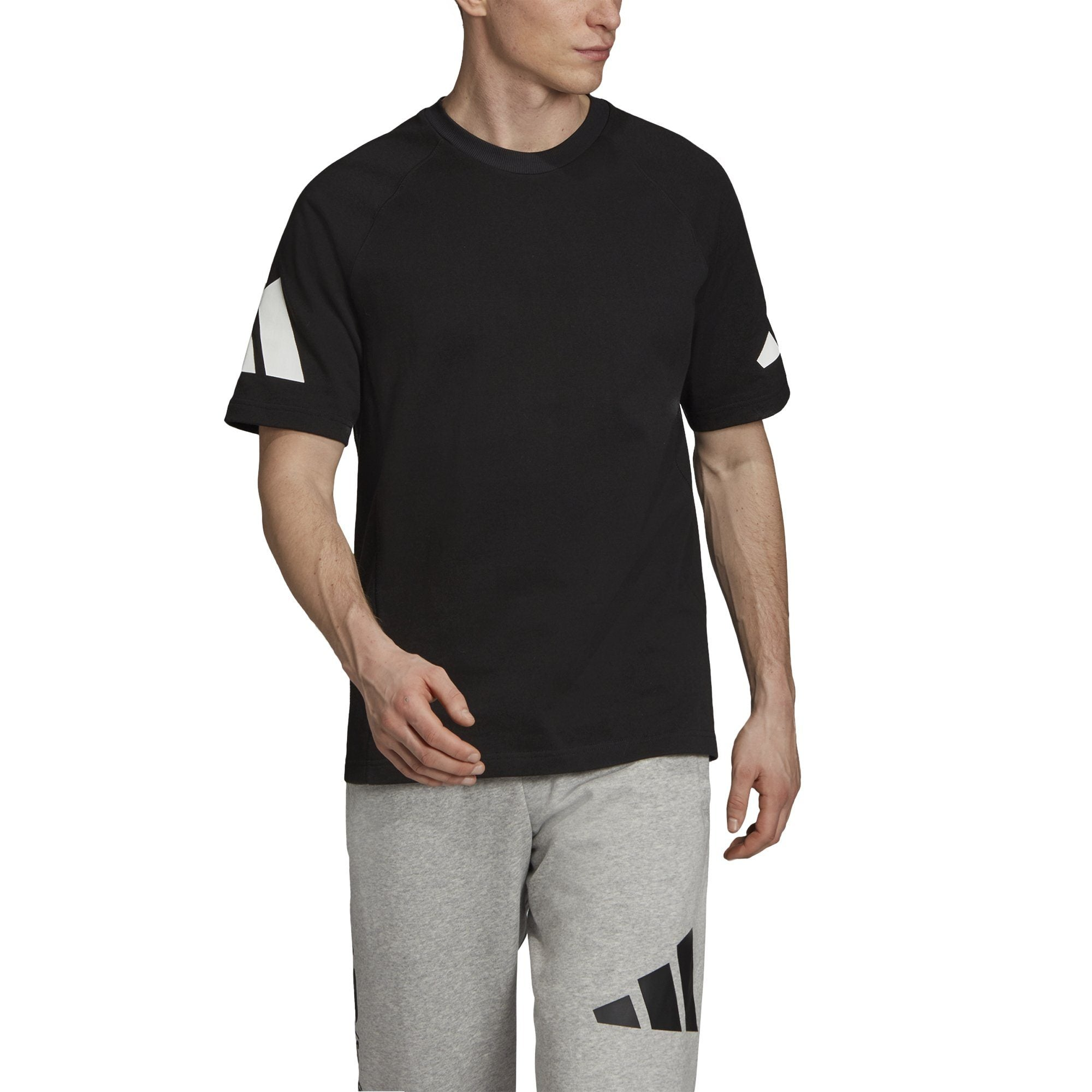 Adidas Mens adidas Athletics Pack Heavy Tee - black SP-APPARELTEES-MENS Adidas