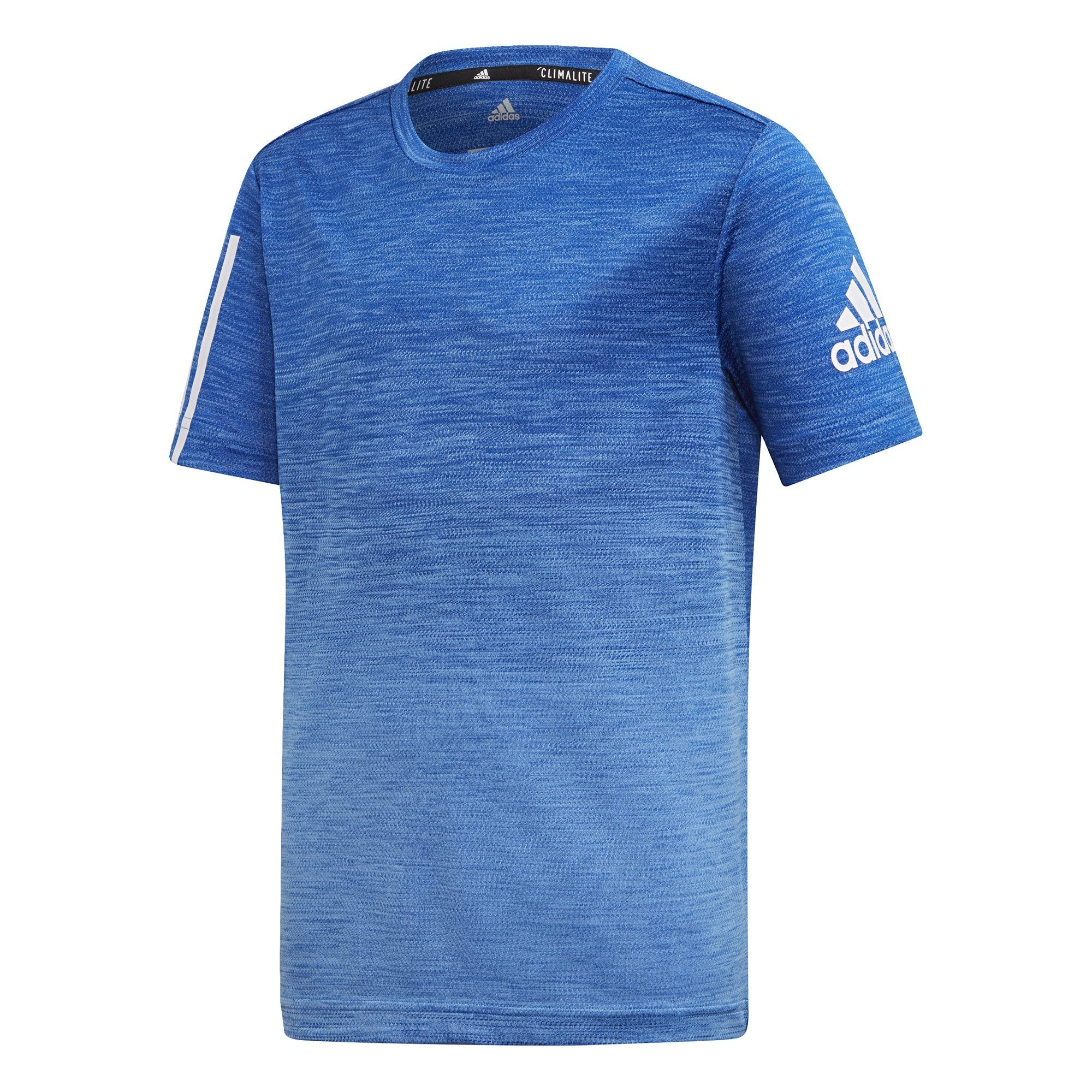 Adidas Boys Gradient Tee - real blue/collegiate royal/white SP-APPARELTEES-KIDS Adidas