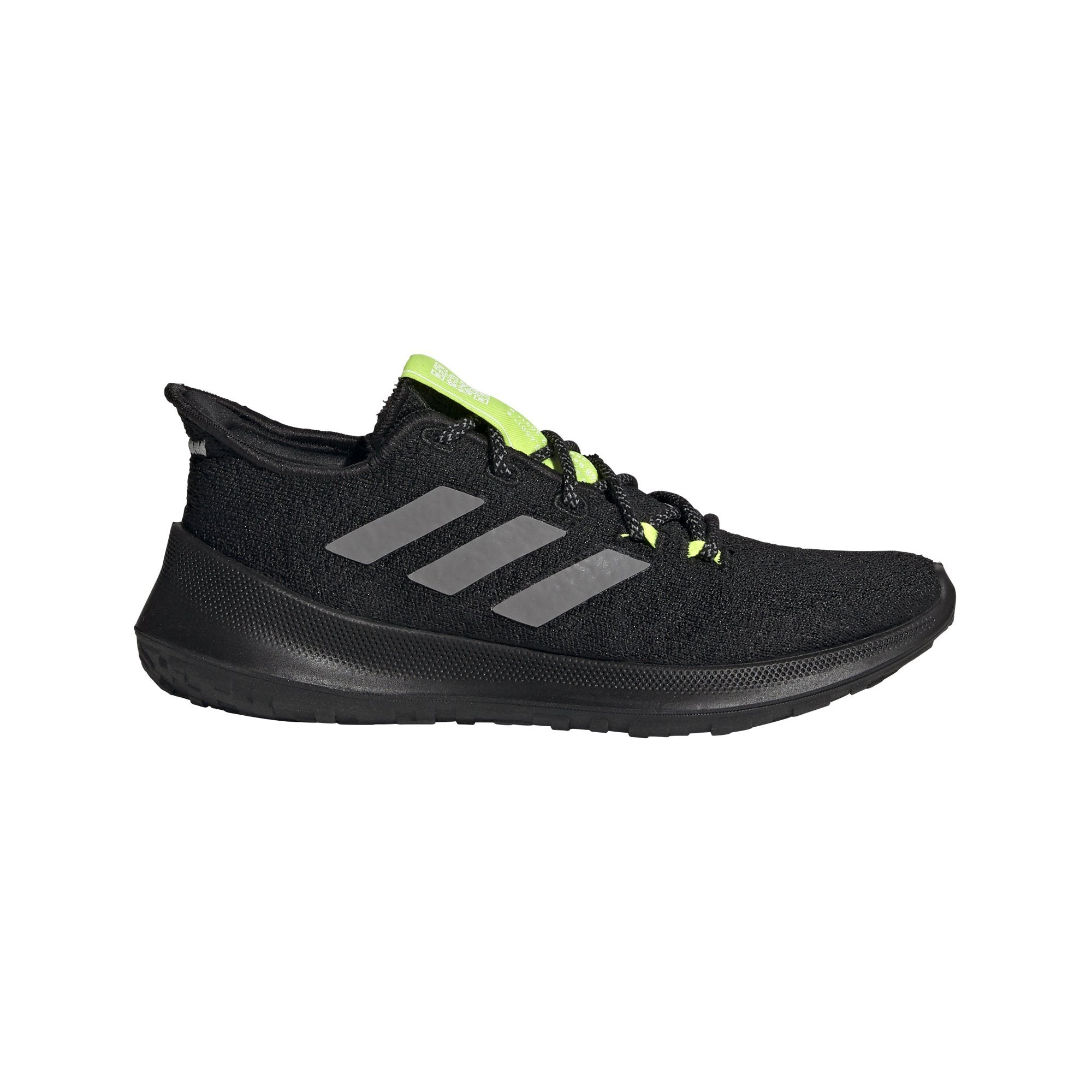 Adidas Kids Runbounce+ Fade Shoes - core black/grey three/solar yellow SP-FOOTWEAR-KIDS Adidas