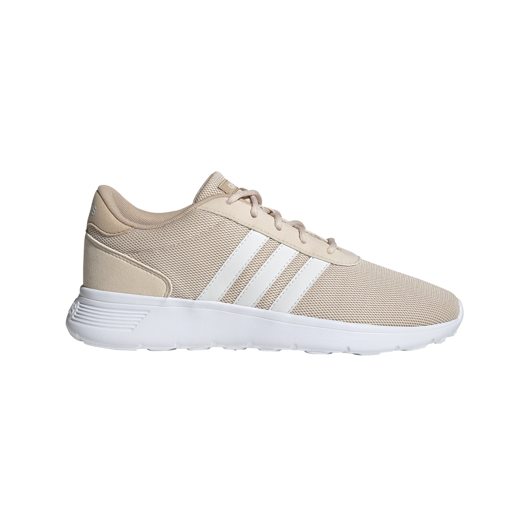 Adidas Womens Lite Racer - Linen/Cloud White/St Pale Nude SP-Footwear-Womens Adidas