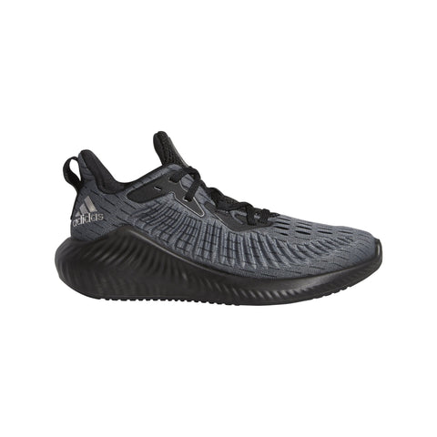 Adidas Kids Alphabounce+ Run Shoes - core black/TRACE GREY MET. F17/grey six SP-FOOTWEAR-KIDS Adidas