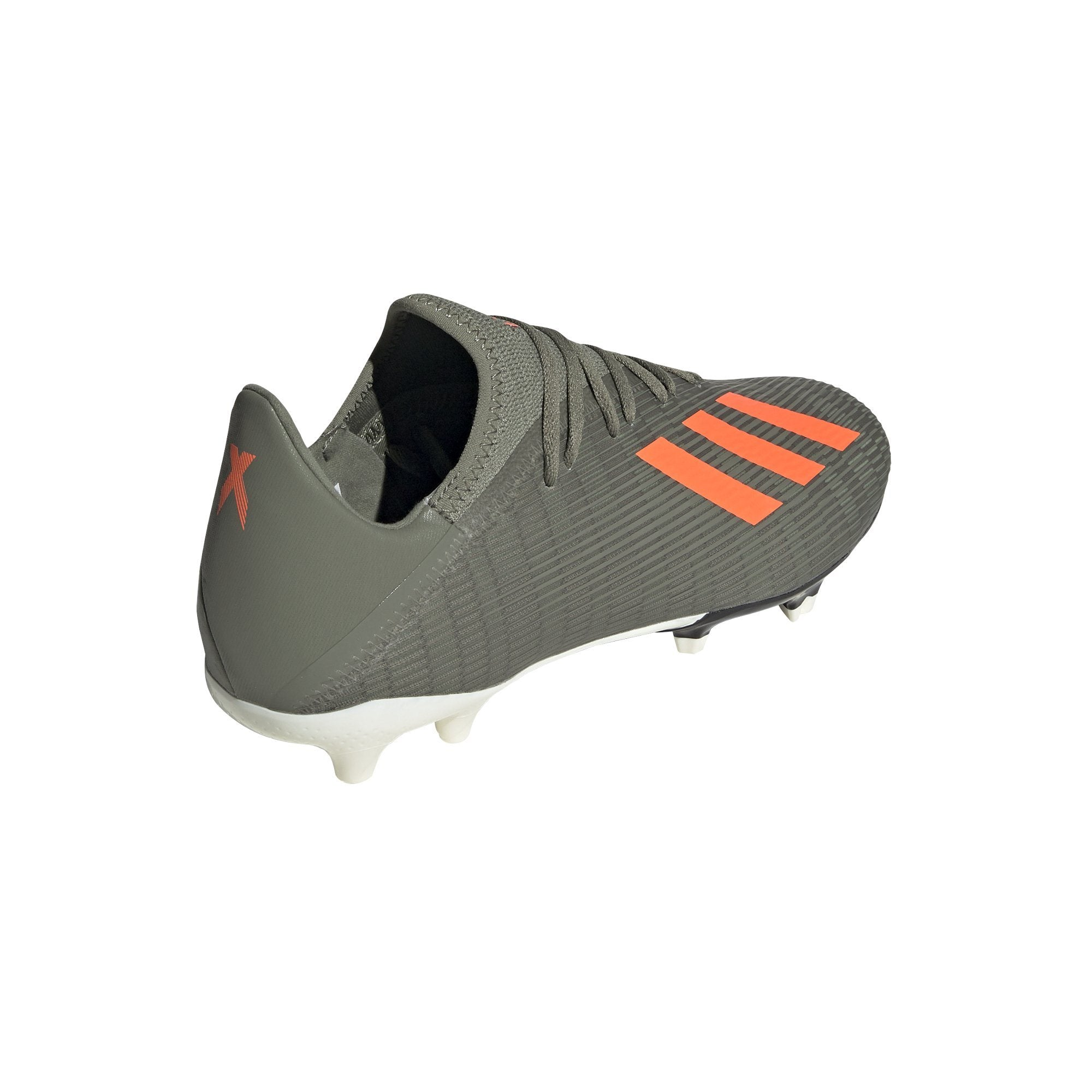 Adidas Mens X 19.3 Firm Ground Boots - legacy green/solar orange/chalk white SP-FOOTWEAR-MENS Adidas