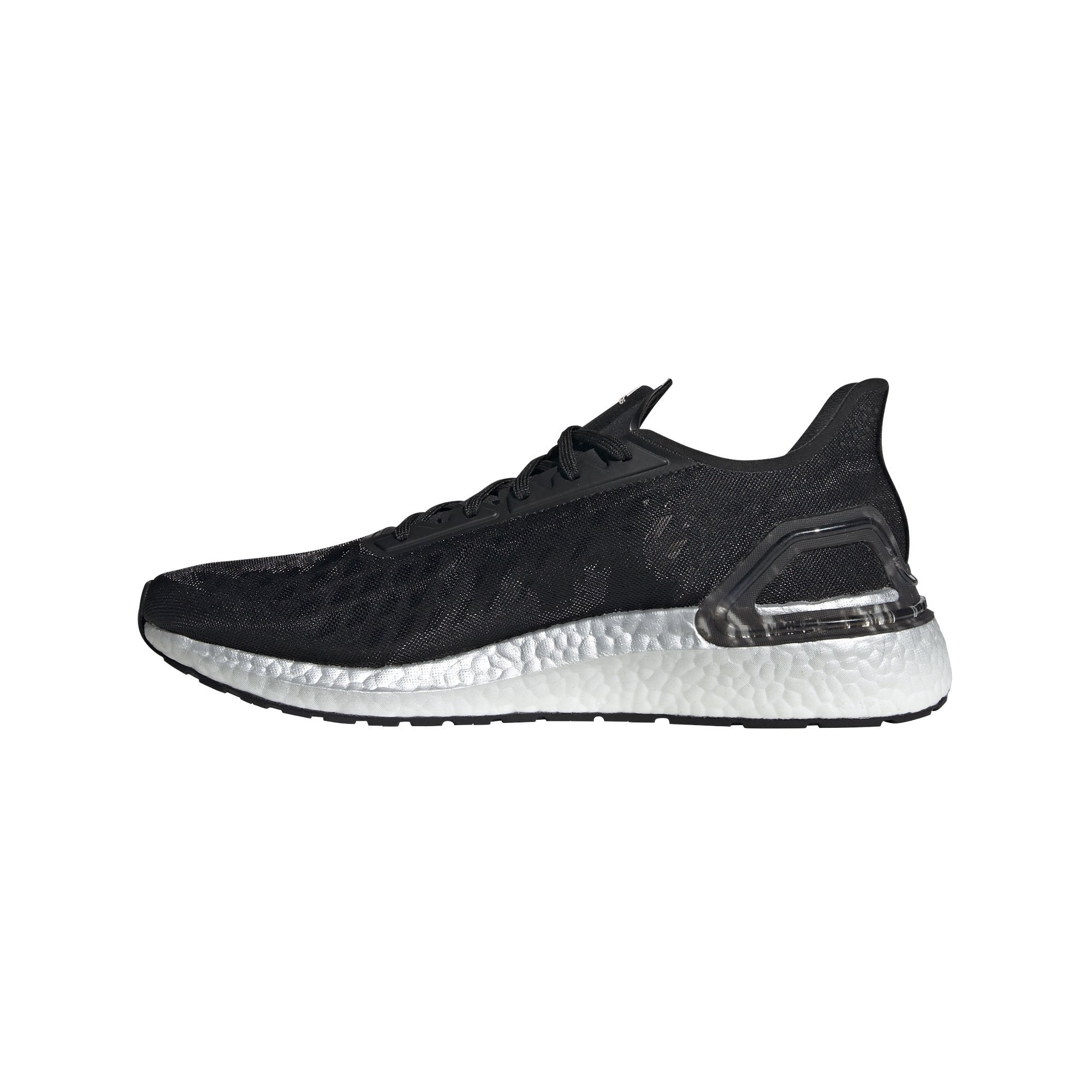 Adidas Men's UltraBoost PB Shoes - Core Black/Ftr White/Signal Coral