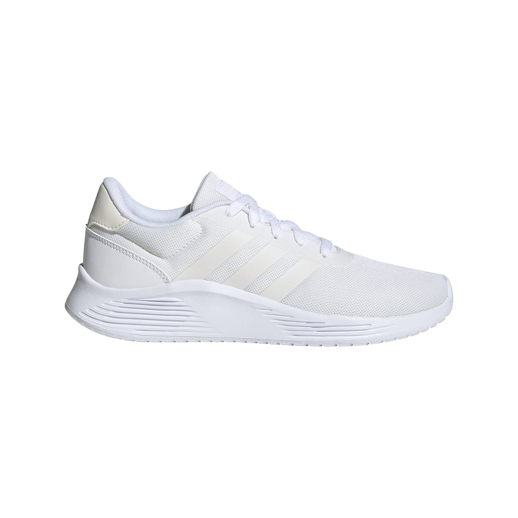 Adidas Women's Lite Racer 2.0 Shoes - Ftwr White/Chalk White/Core Black