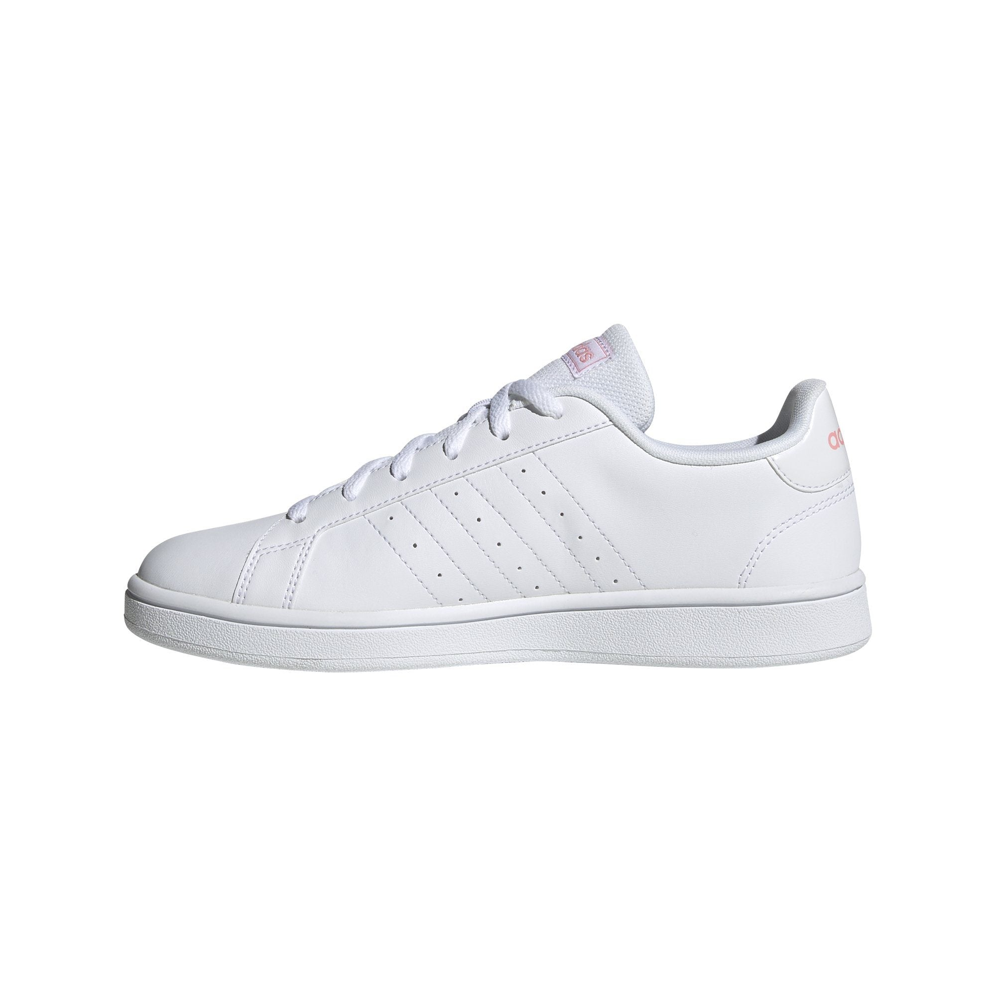 Adidas Womens Grand Court Base Shoes - Ftwr White/Glory Pink/Ftwr White SP-Footwear-Womens Adidas