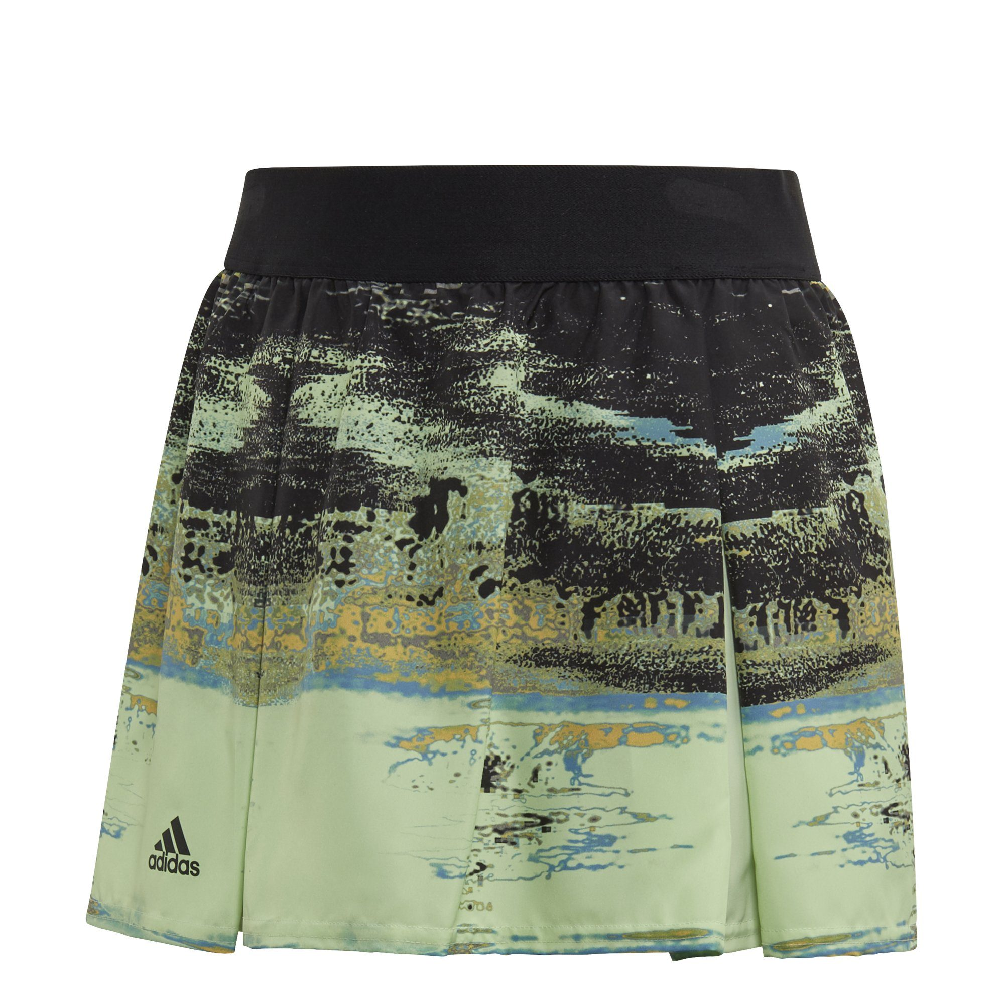 Adidas Girls New York Skirt - glow green/black SP-APPARELDRESS-KIDS Adidas