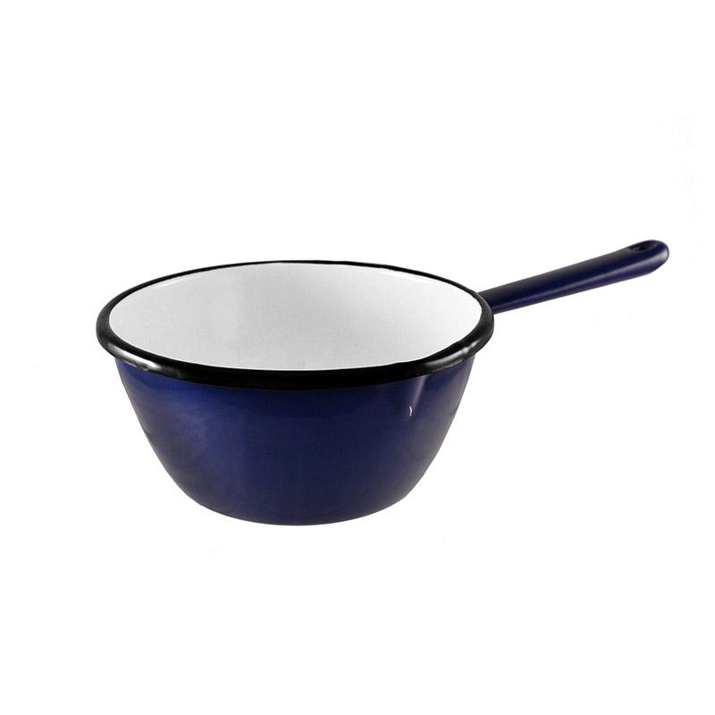 Enamel Milk Pan 16cm Blue Kitchenware Malaren