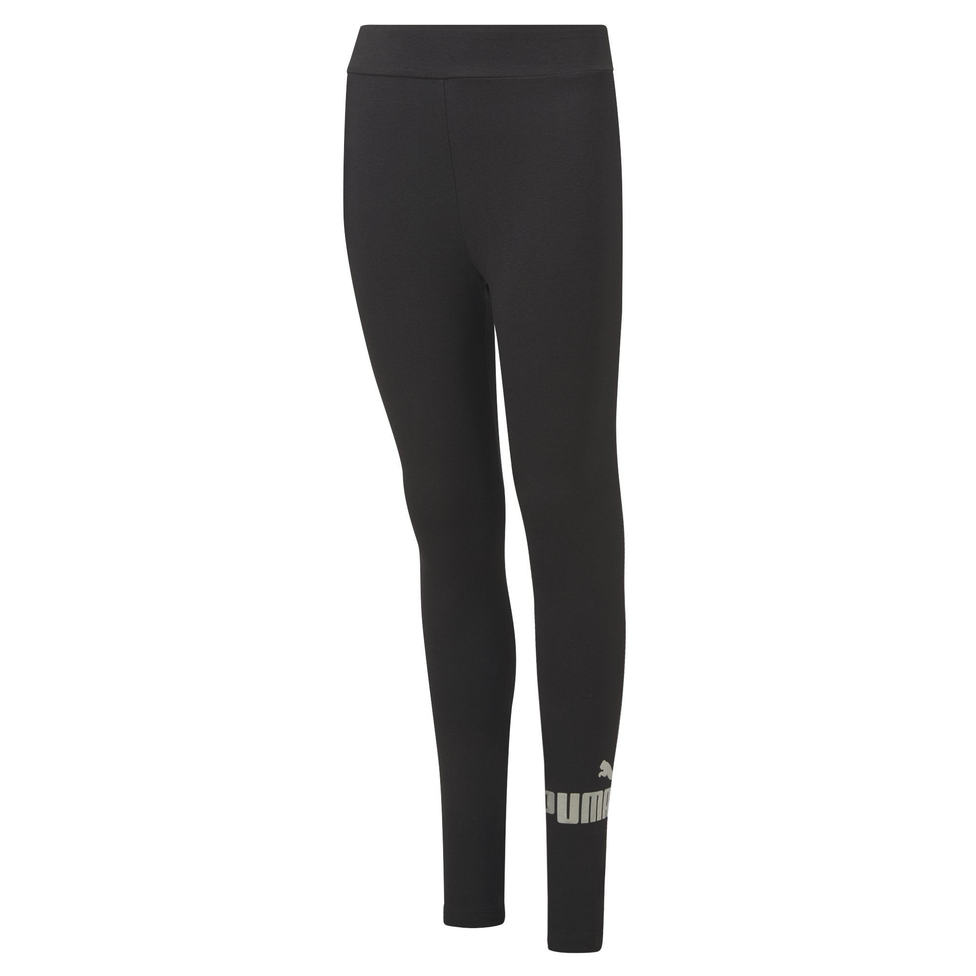 Puma Essentials+ Logo Leggings Girls - Puma Black SP-ApparelTights-Kids Puma