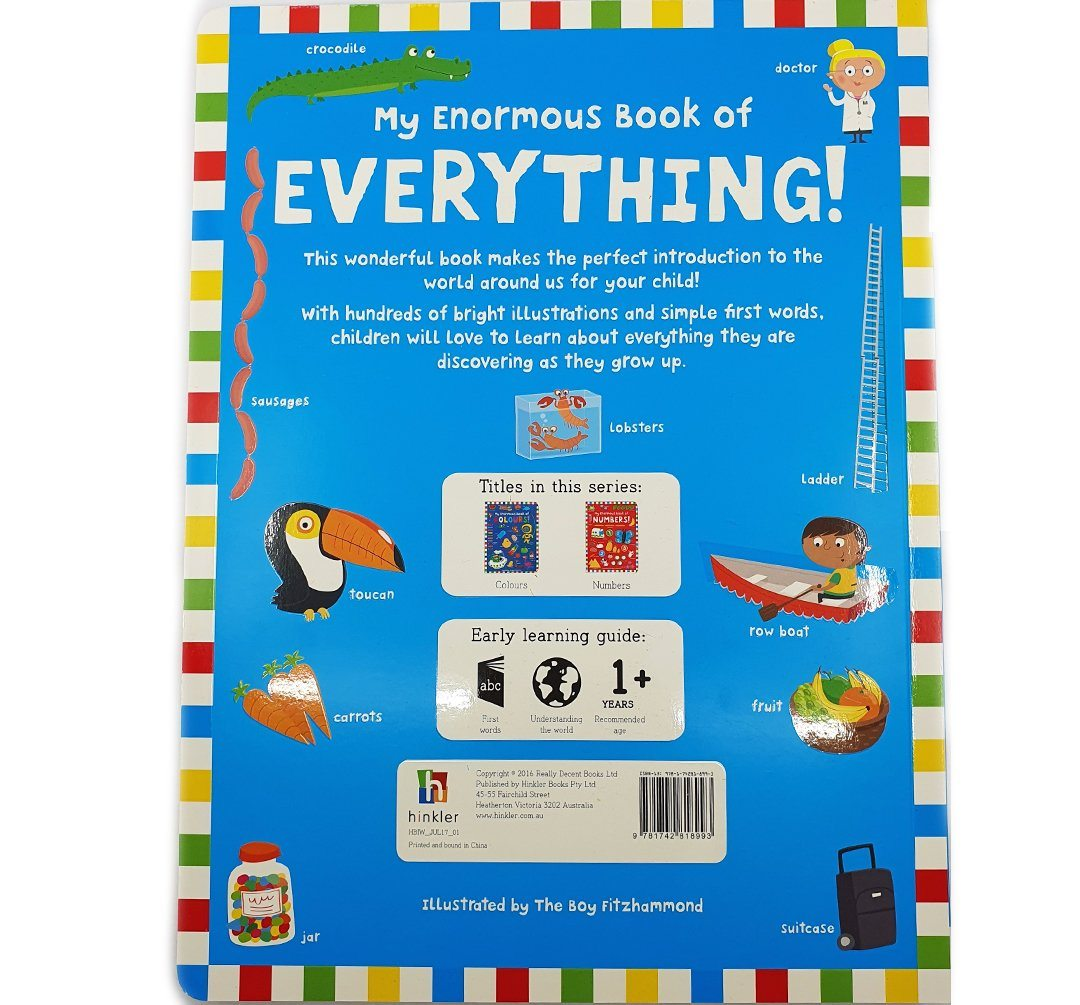 My Enormous Book of Everything Books Hinkler Books