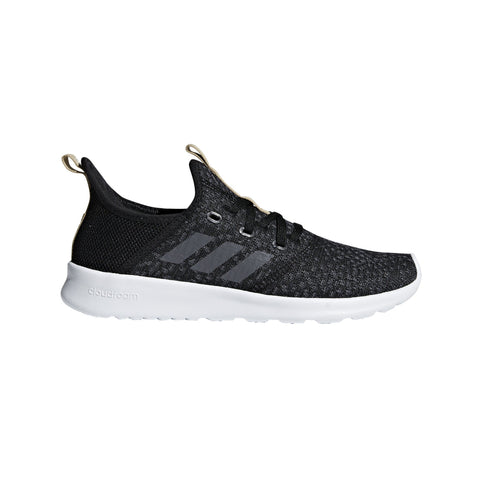 Adidas Womens Cloudfoam Pure Shoes - core black/grey five/core black SP-FOOTWEAR-WOMENS Adidas