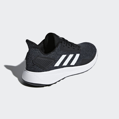 Adidas Womens Duramo 9 Shoes - core black-ftwr white-grey five Womens Footwear Adidas