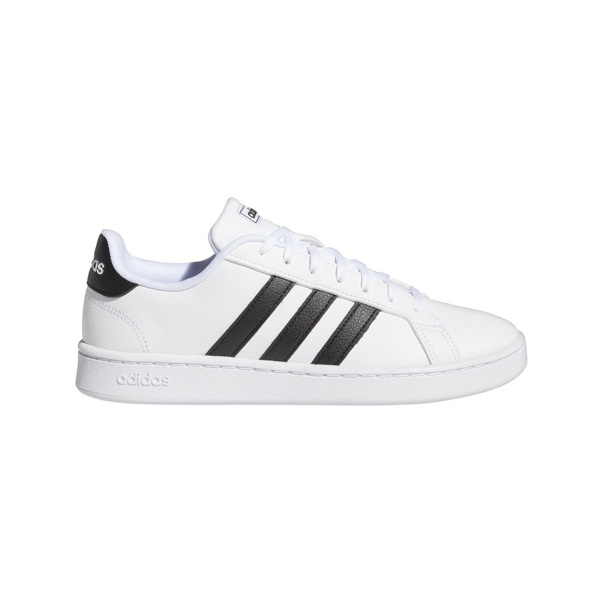 Adidas Womens Grand Court Shoes - Ftwr White/Core Black/Ftwr White SP-Footwear-Womens Adidas