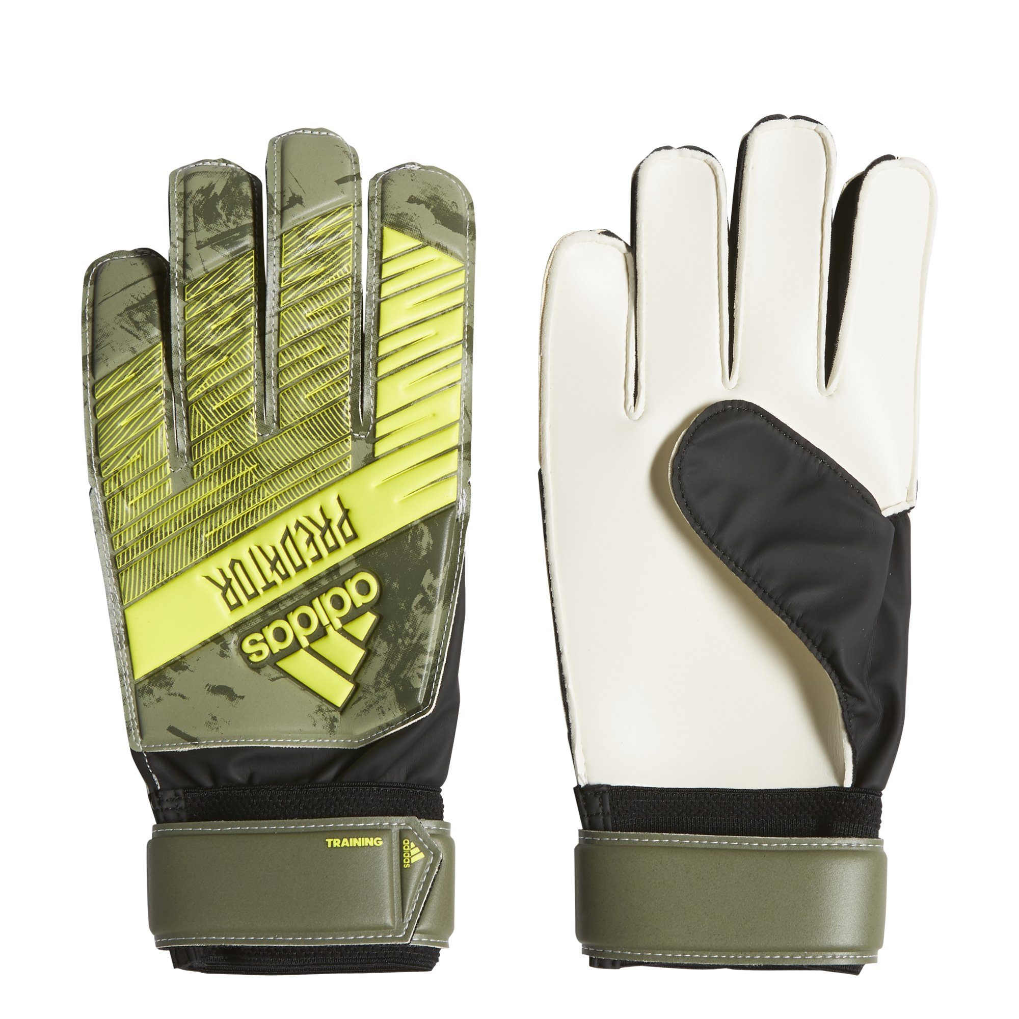 Adidas Predator Training Gloves - raw khaki/TRACE OLIVE F17 SP-ACCESSORIES Adidas