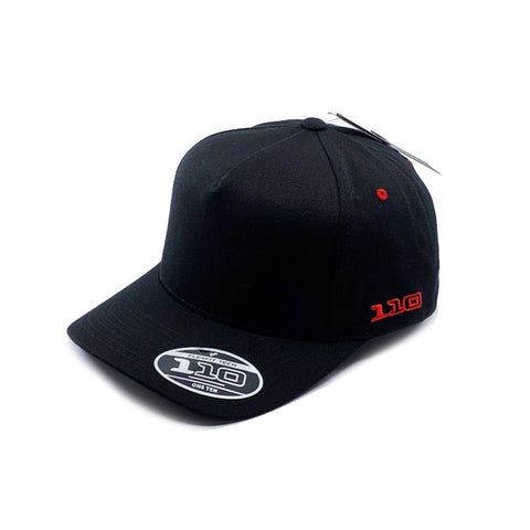 Flexfit Vintage 110 Snapback - Black/Red SP- Headwear - Caps Flexfit