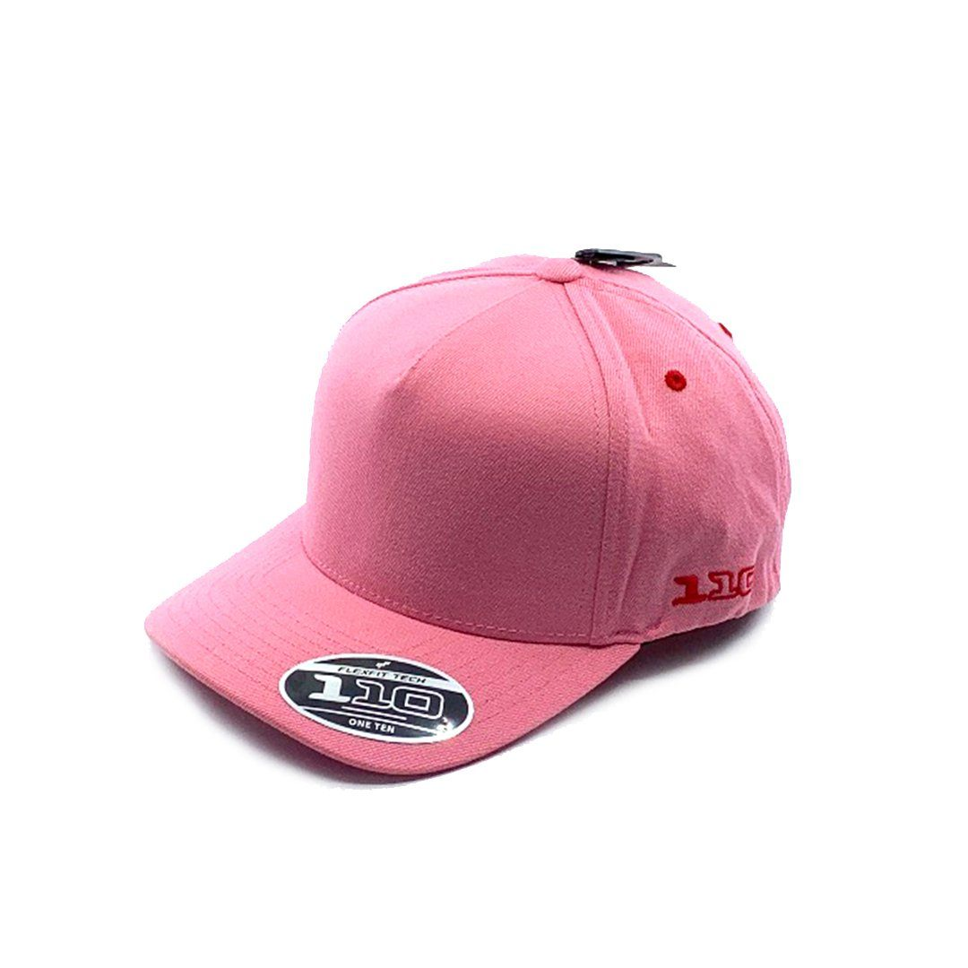 Flexfit A Vintage 110 Snapback Cap Youth - Pastel Pink SP-Headwear-Caps Flexfit