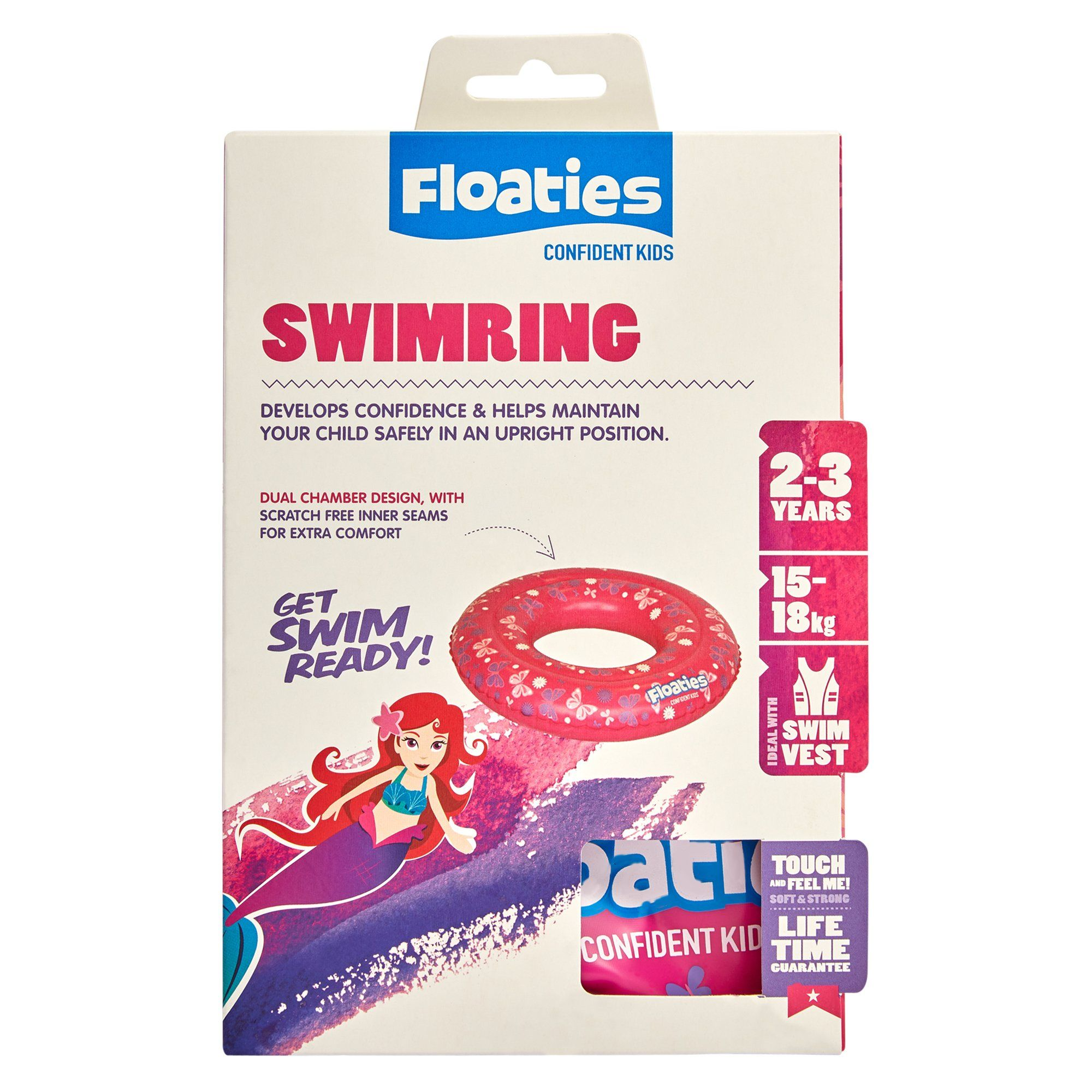 Floaties Swim Ring Sml Girls Toys Isbister & Co Wholesale