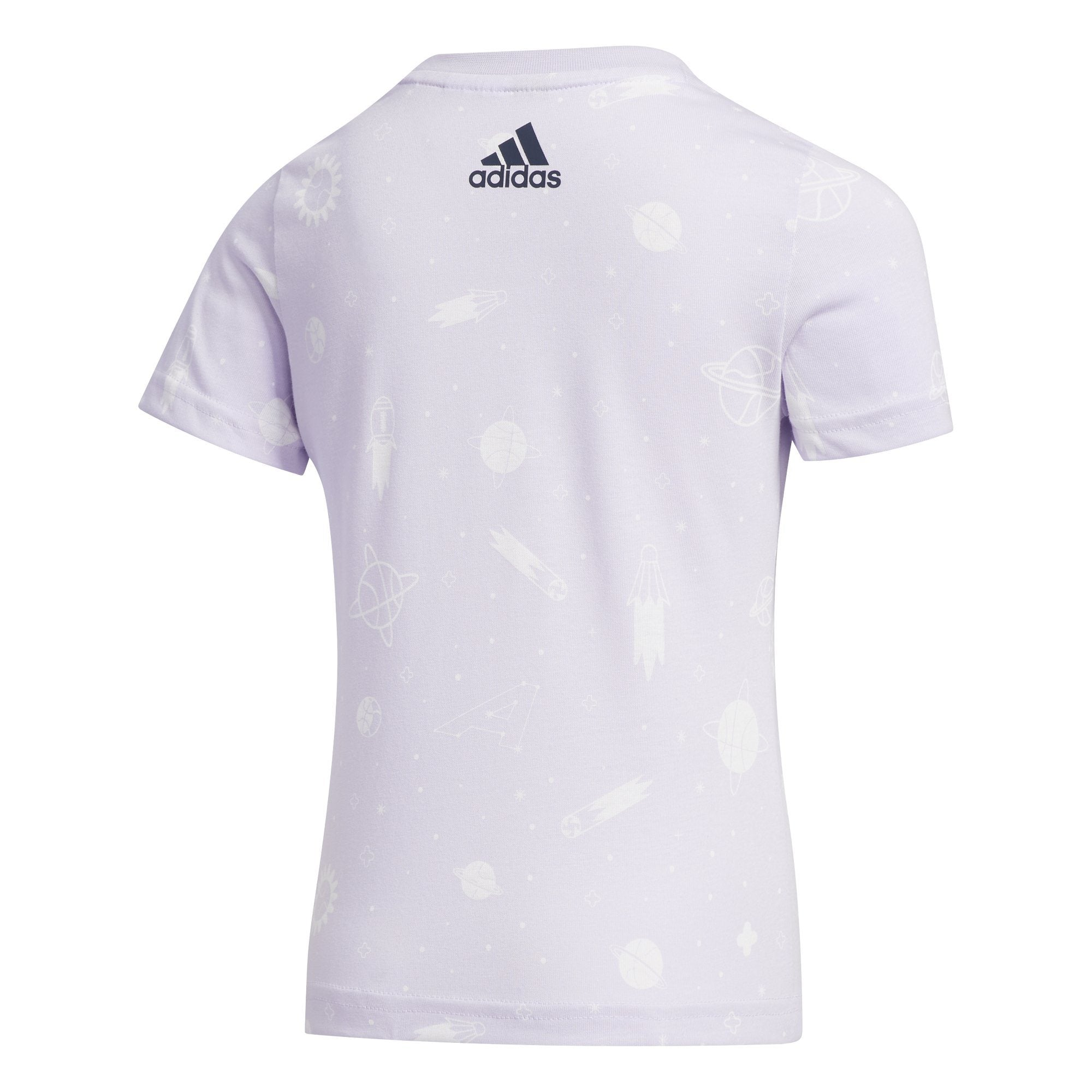 Adidas Kids Style Summer Tee - Purple Tint SP-ApparelTees-Kids Adidas