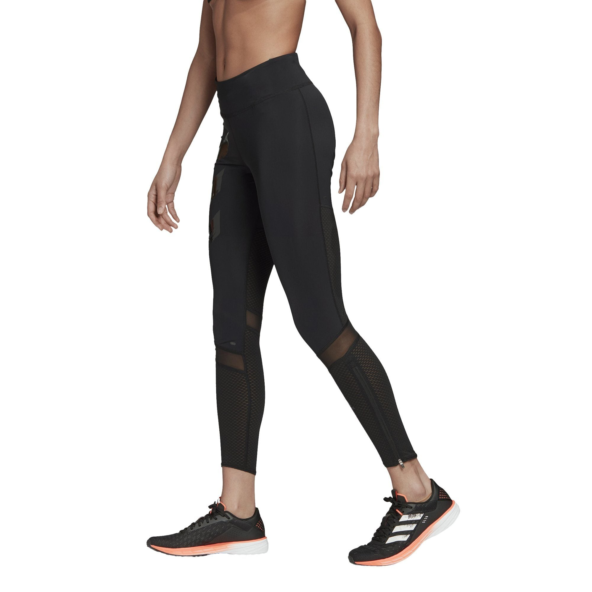Adidas Womens How We Do Long Tights - black SP-ApparelTights-Womens Adidas