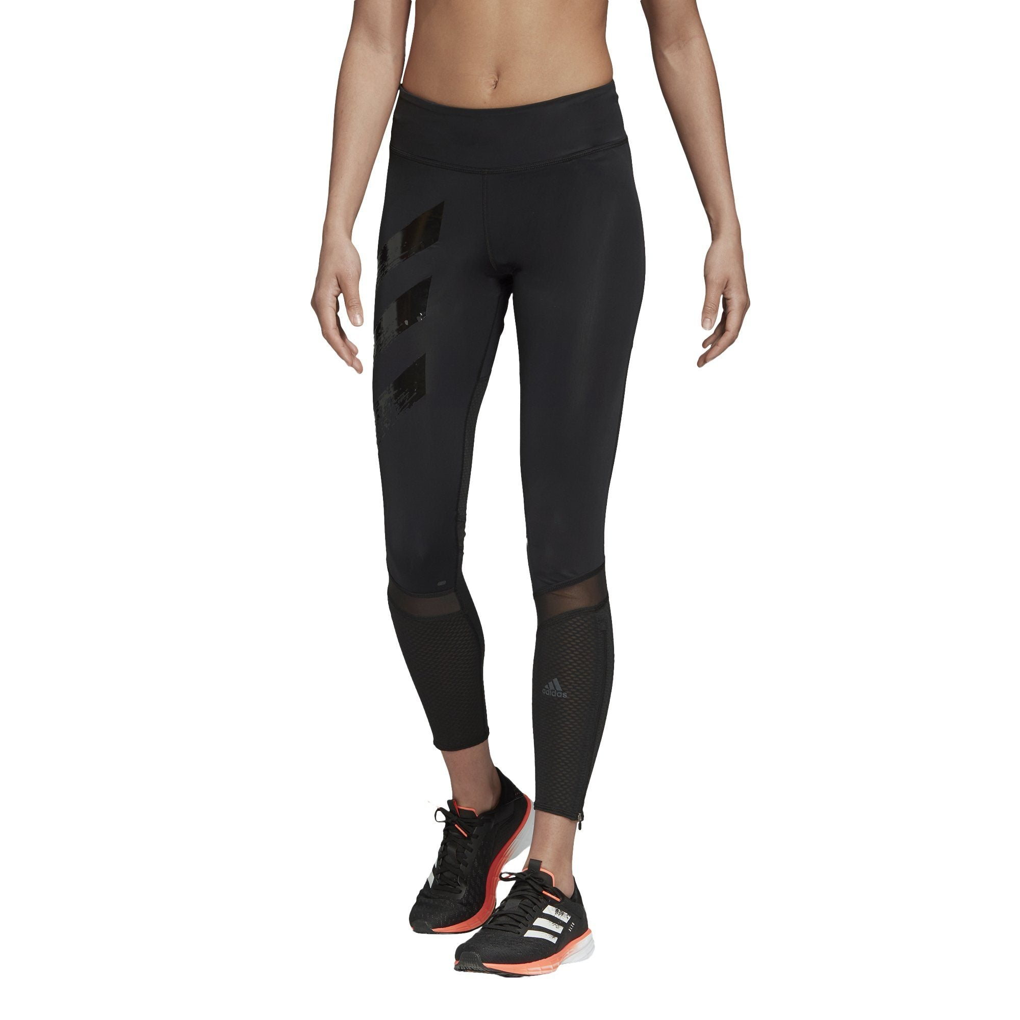 Adidas Womens How We Do Long Tights - black