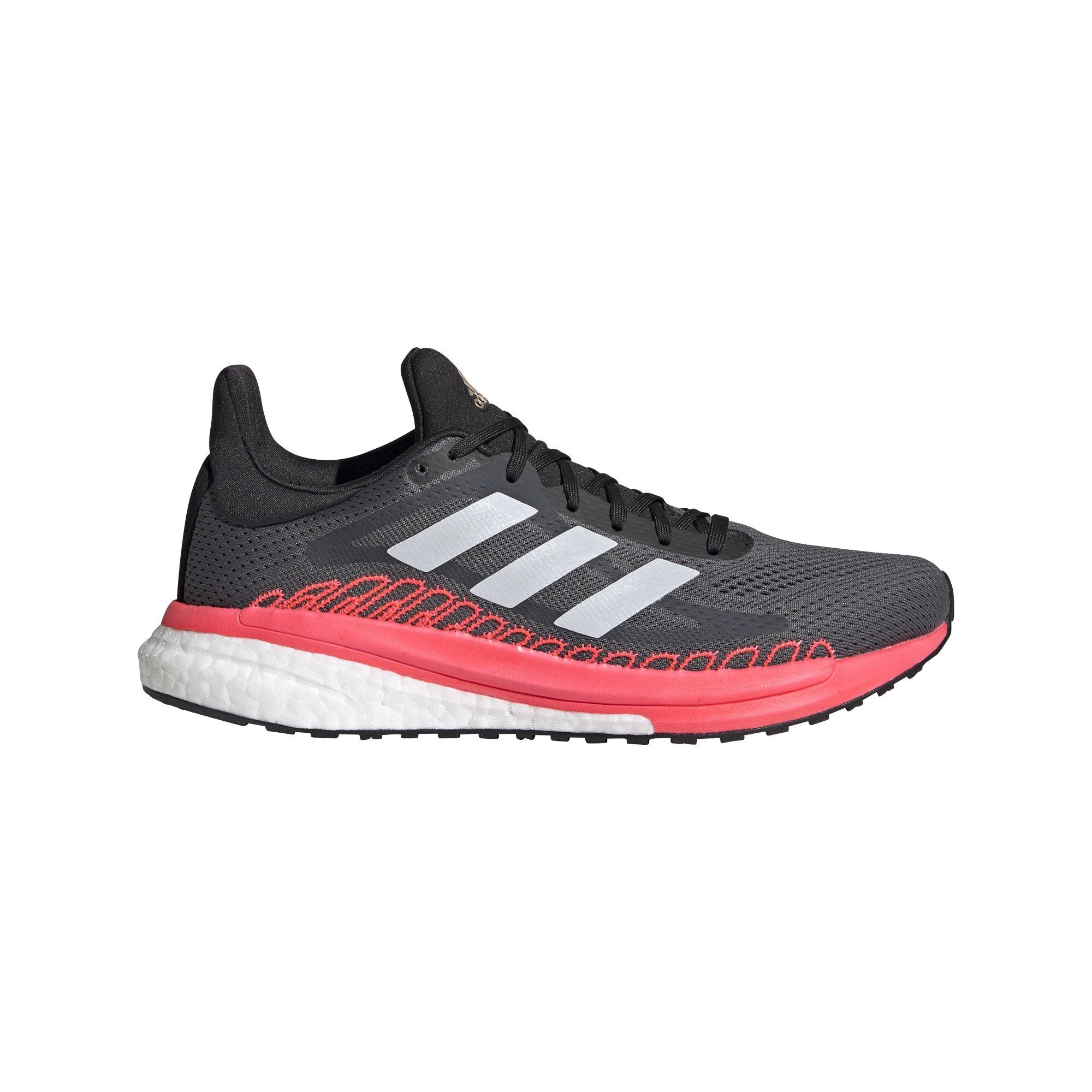 Adidas Women's Solar Glide ST 3 W - Grey Five/Cry White/ Signal Pink SP-Footwear-Womens Adidas