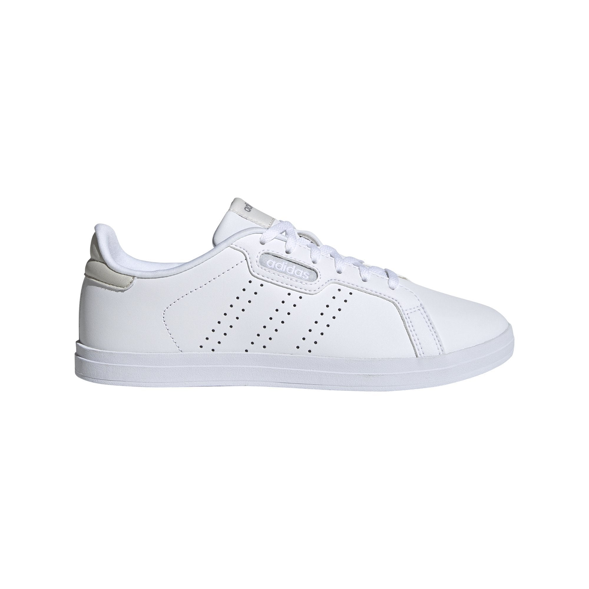 Adidas Womens Courtpoint CL X Shoes - Ftwr White/Ftwr White/Orbit Grey