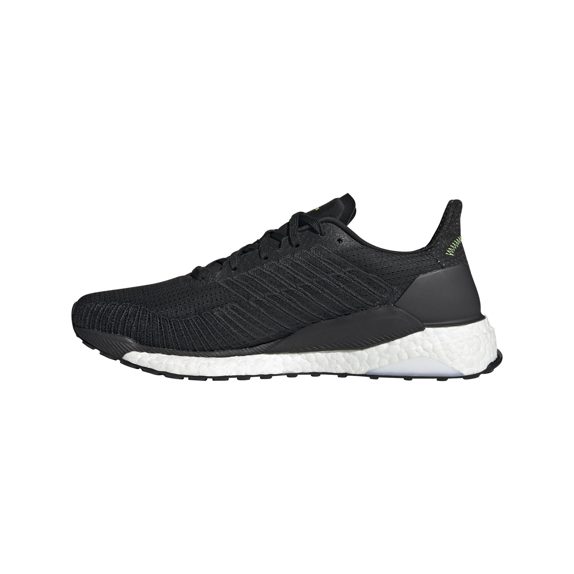 Adidas Mens Solarboost 19 - core black/ftwr white/signal green