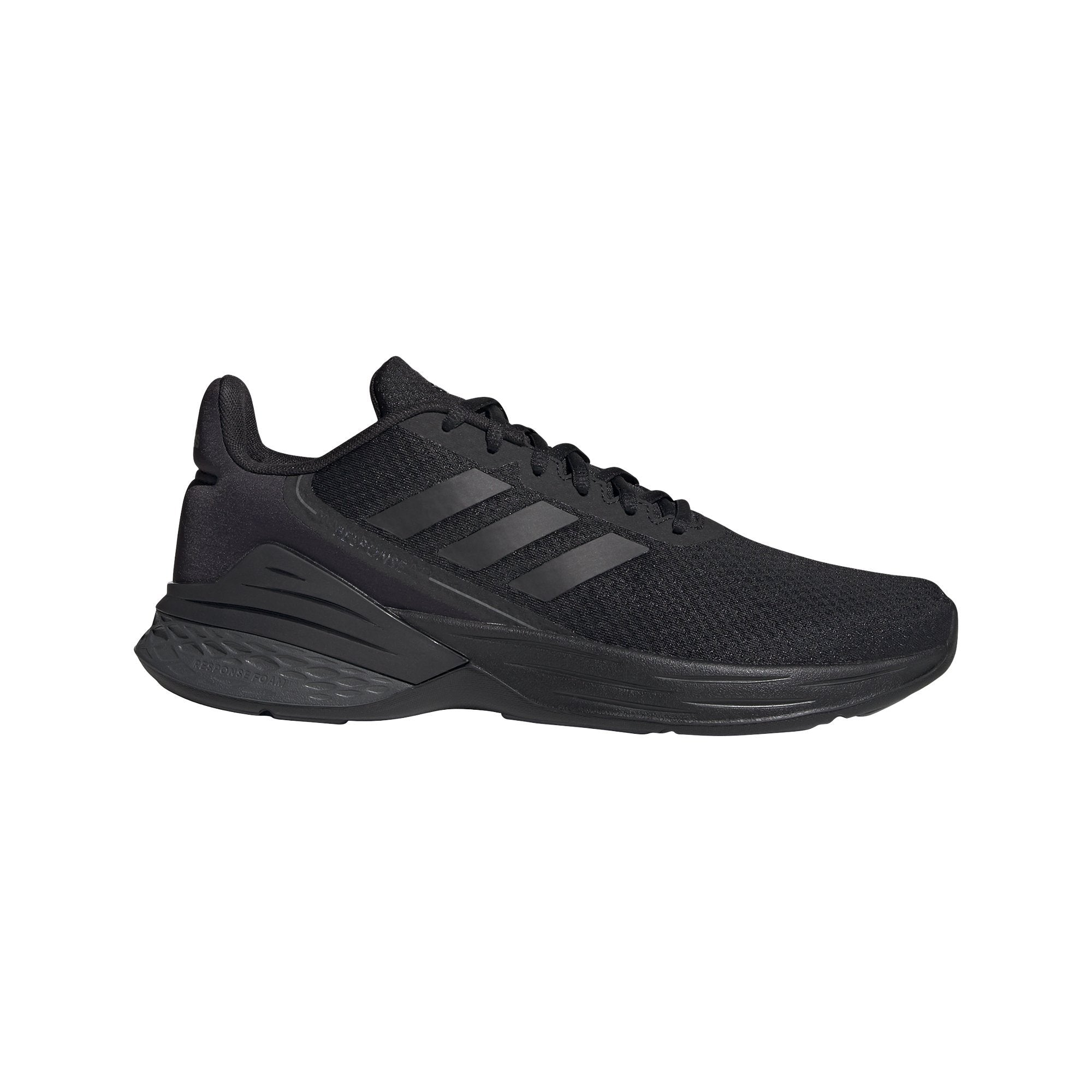 Adidas Mens Response SR Shoes - Core Black/Core Black/Grey Six SP-Footwear-Mens Adidas