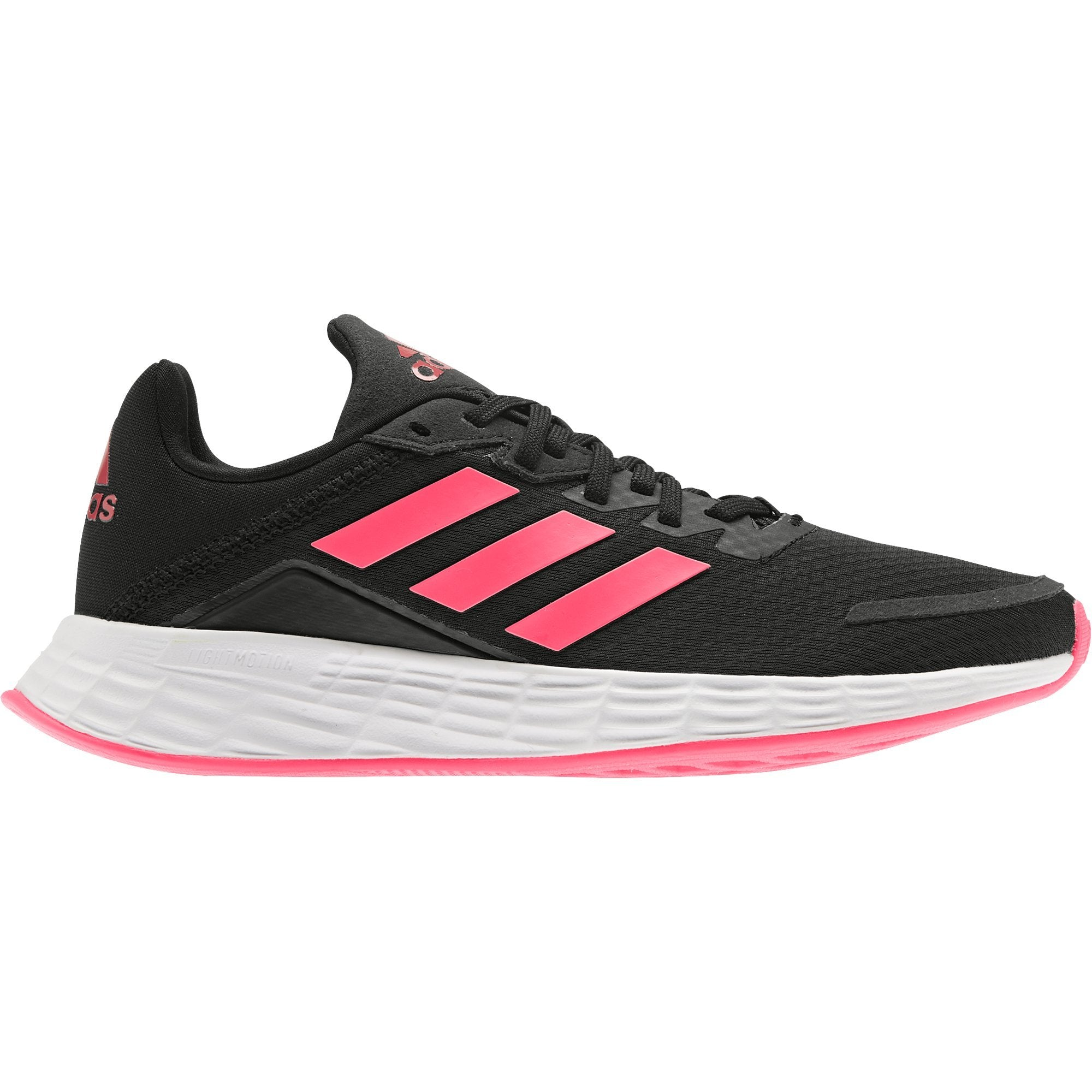 Adidas Kid's Duramo SL K - Core Black/Signal Pink/Royal Blue
