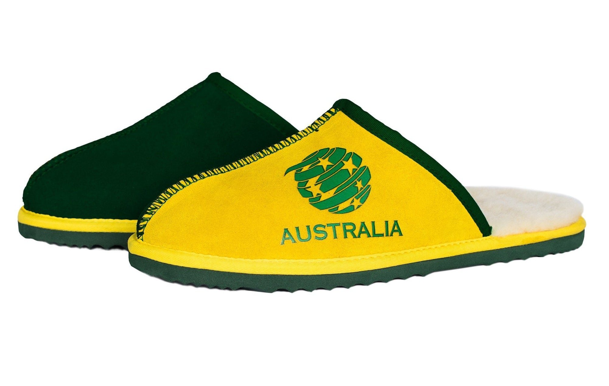 Soccer Adults Slippers - Socceroos Footwear Team Uggs