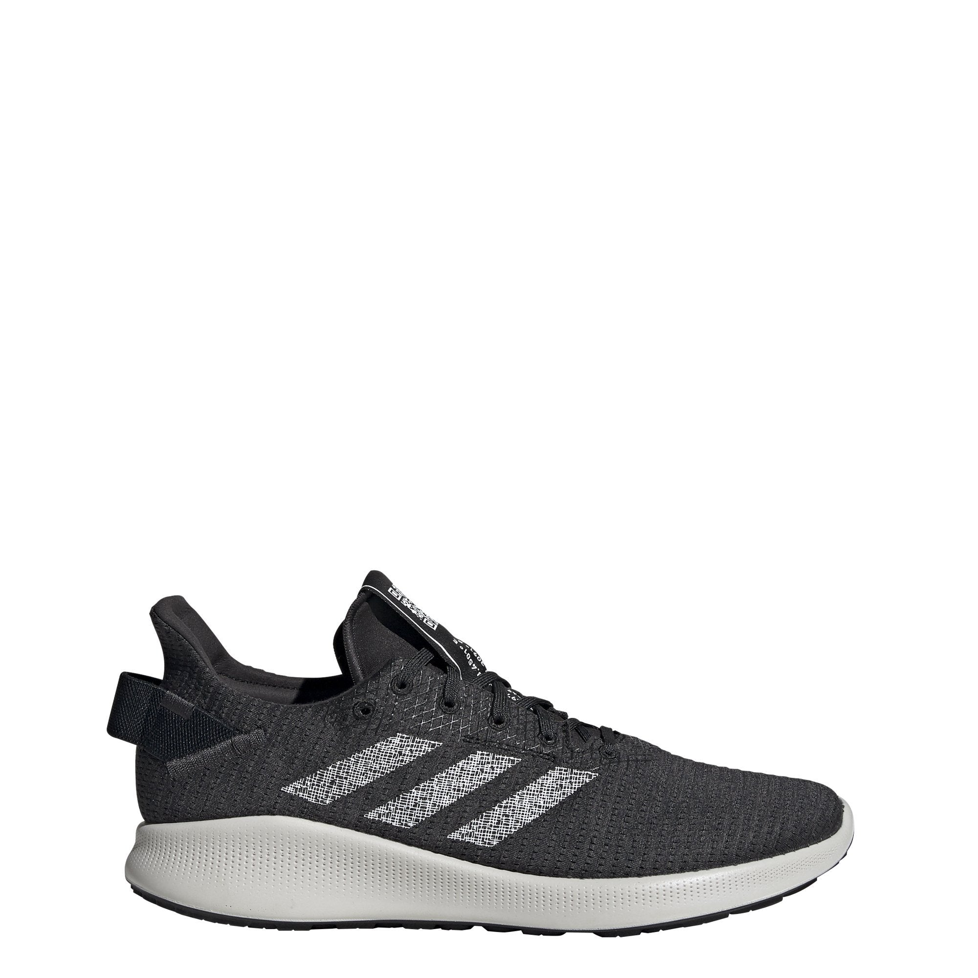 Adidas Mens Sensebounce + Street Shoes - Core Black/White/Carbon SP-Footwear-Mens Adidas