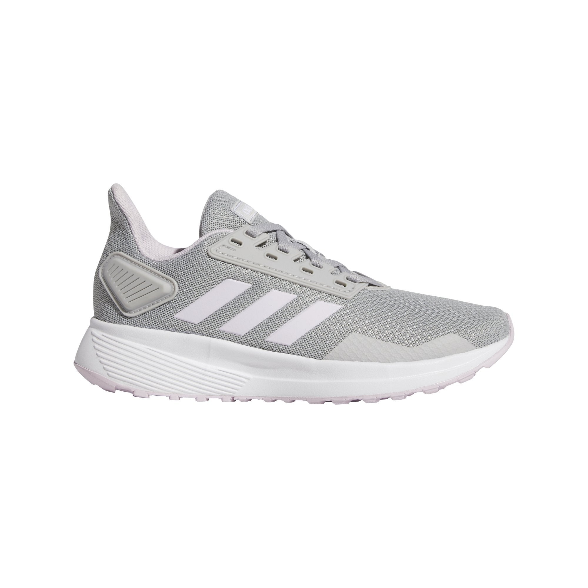 Adidas Kids Duramo 9 Shoes - GREY TWO F17/AERO PINK S18/ftwr white SP-Footwear-Kids Adidas