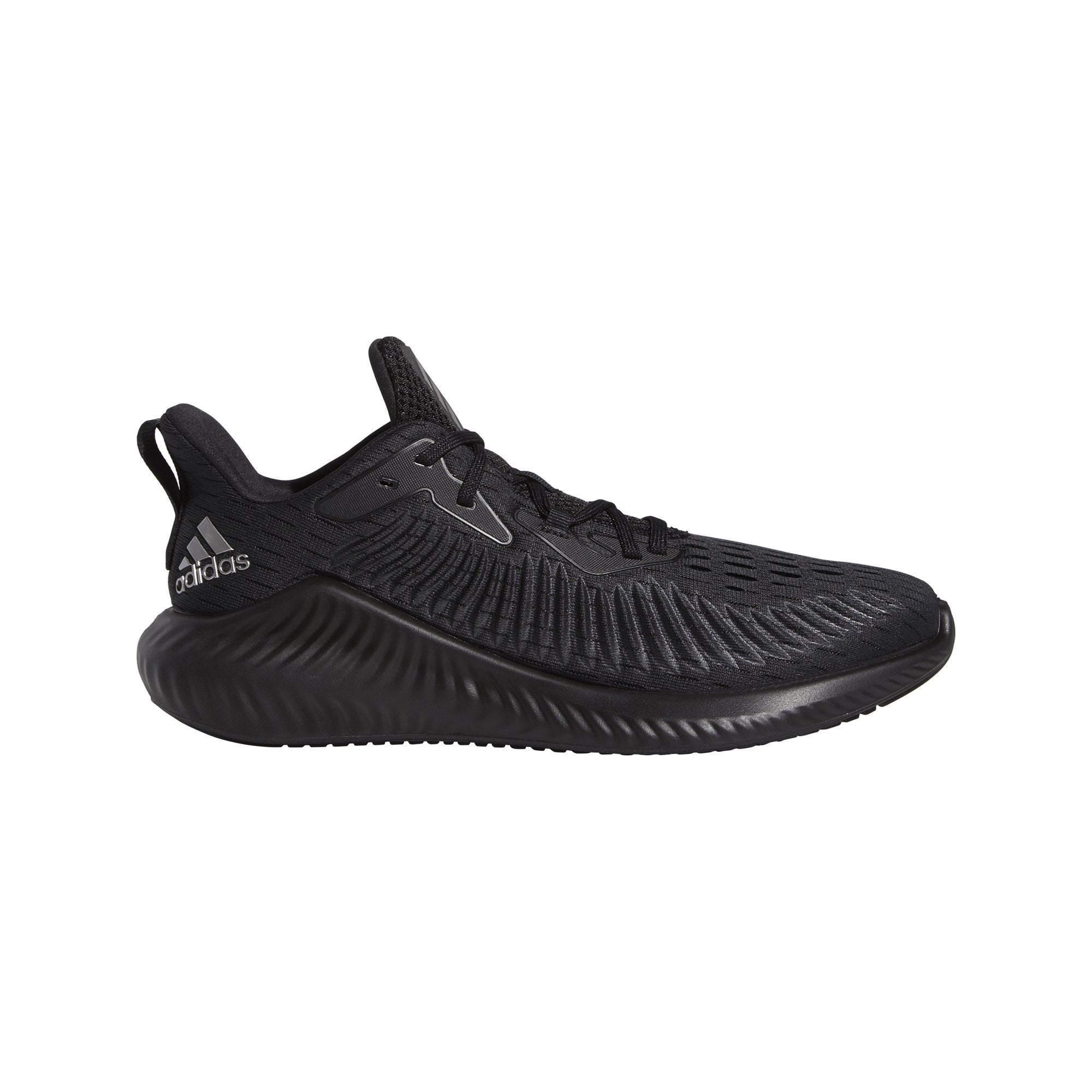 Adidas Mens Alphabounce+ - Core Black/Tech Silver Met./Grey Six SP-Footwear-Mens Adidas