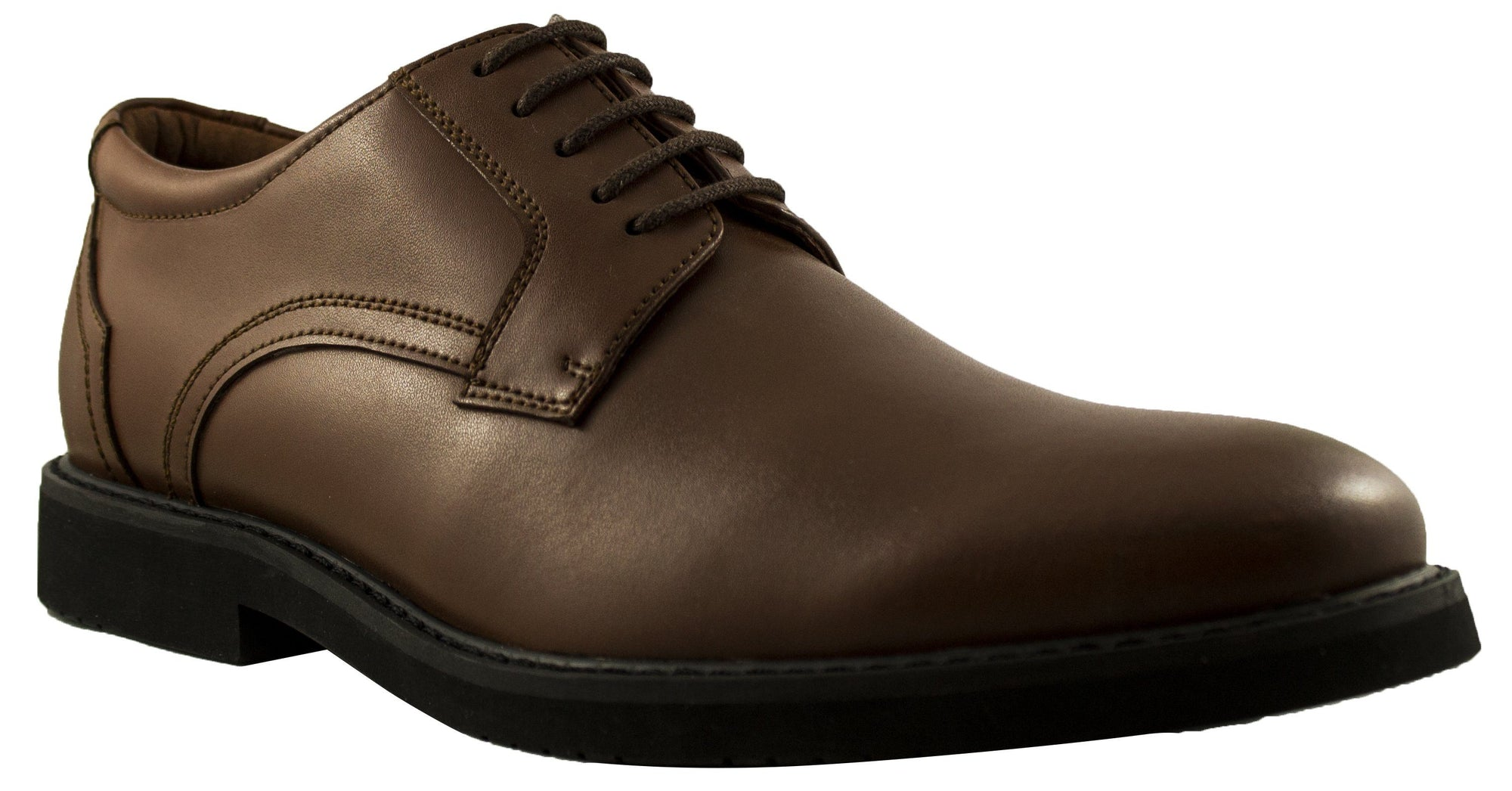 Geoffrey Beene - Wall St Leather Toe Cap Dress Shoe - Brown Footwear Geoffrey Beene