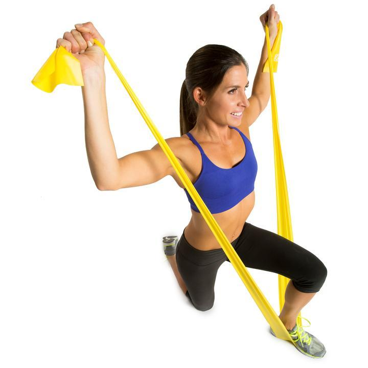GoFit Power Latex Free Flat Band - Light (Yellow) SP-Equipment-Exercise GoFit