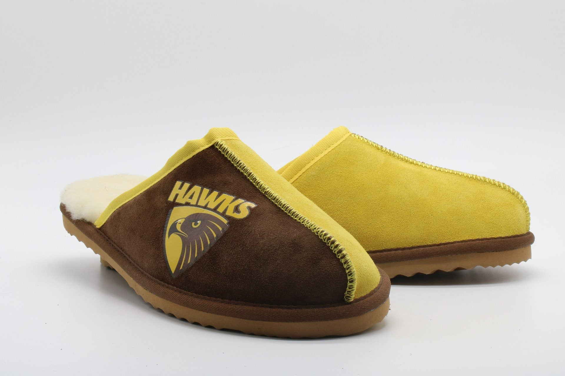 AFL Adults Slippers - Hawthorn Hawks Footwear Team Uggs