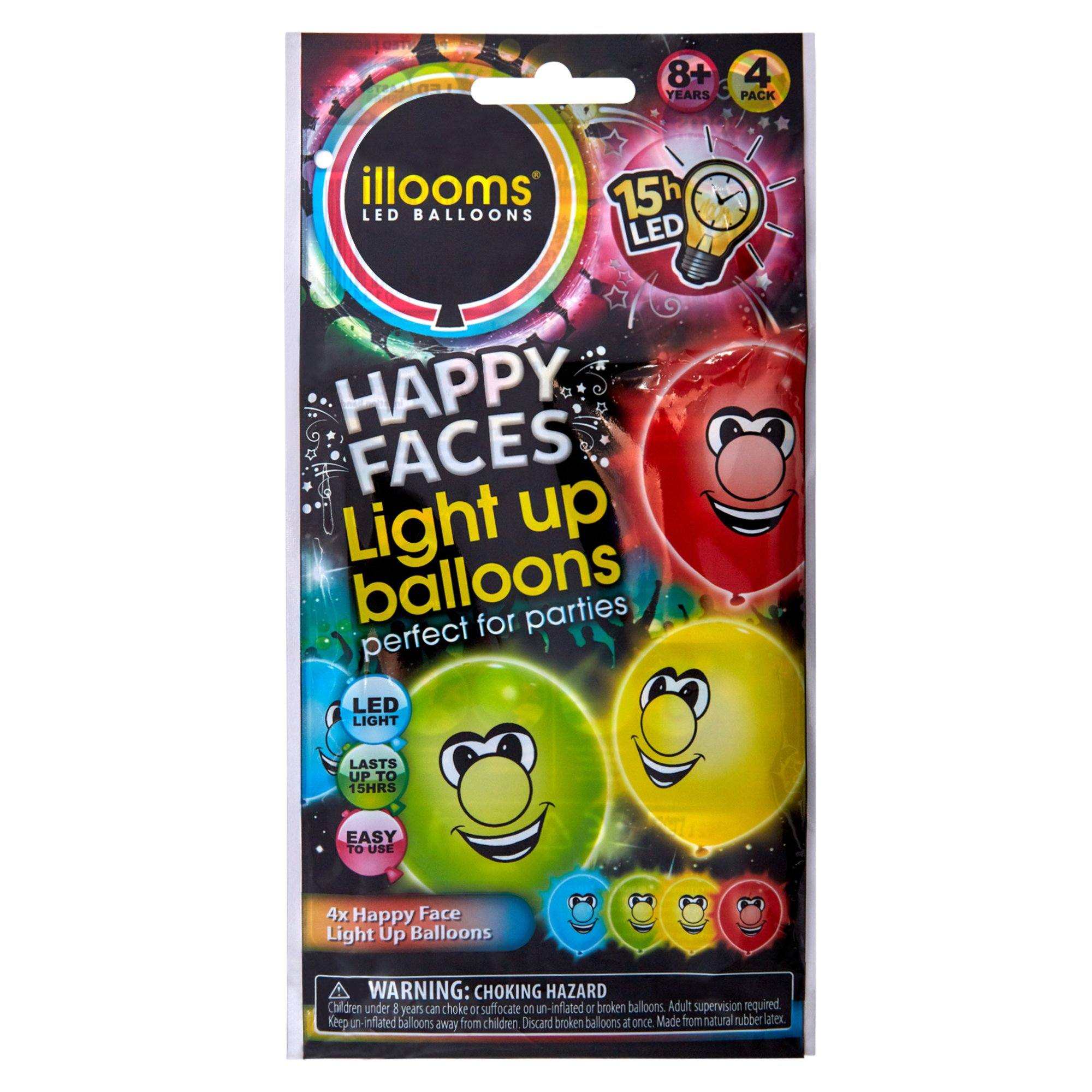 Illooms Mixed Faces 4 Pack Toys SportsPower Geelong