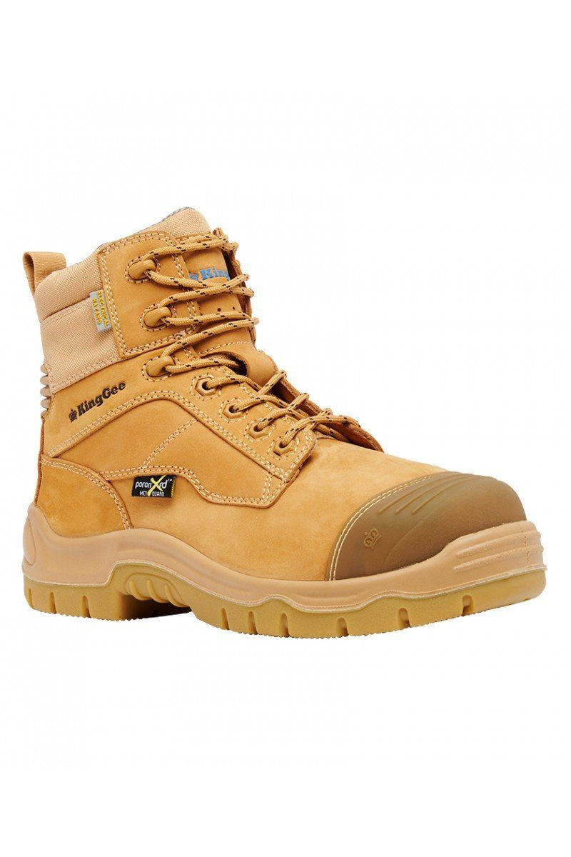 King Gee Phoenix 6C EH MET Boot - Wheat Workwear King Gee