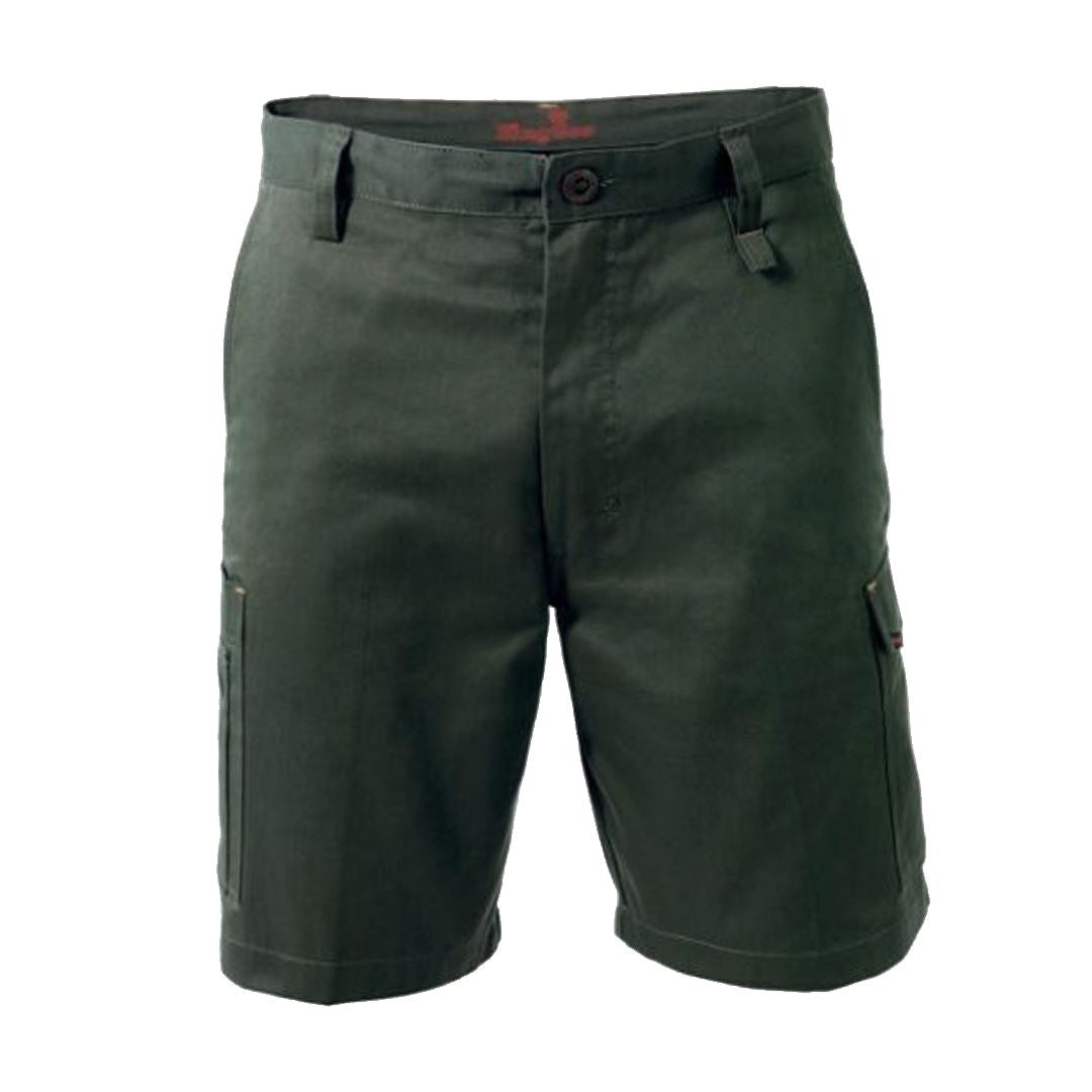 King Gee Men's New G's Workcool Short - Green Workwear King Gee