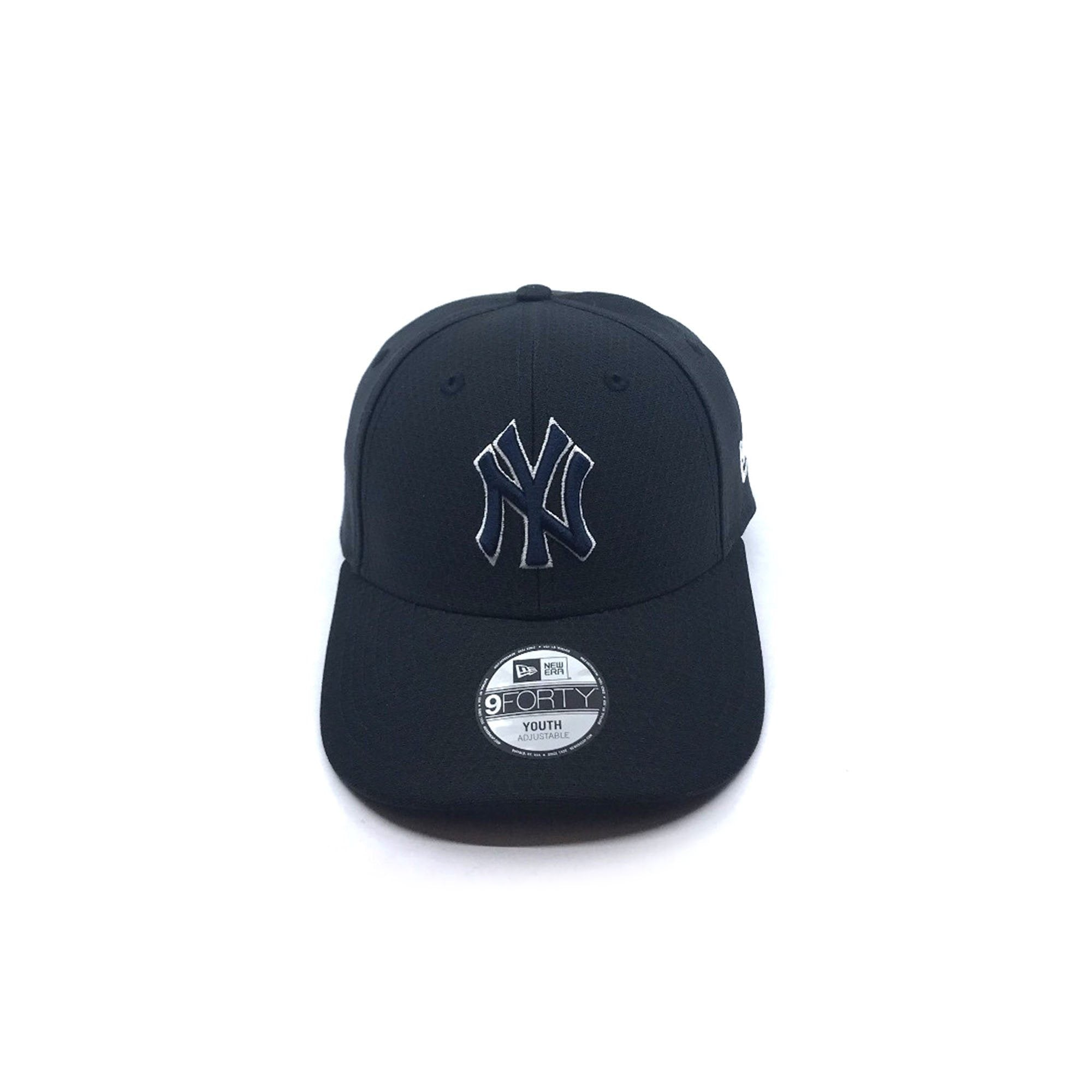 New Era Youth 9FORTY Snapback - New York Yankees - Black Hex SP-Headwear-Caps New Era