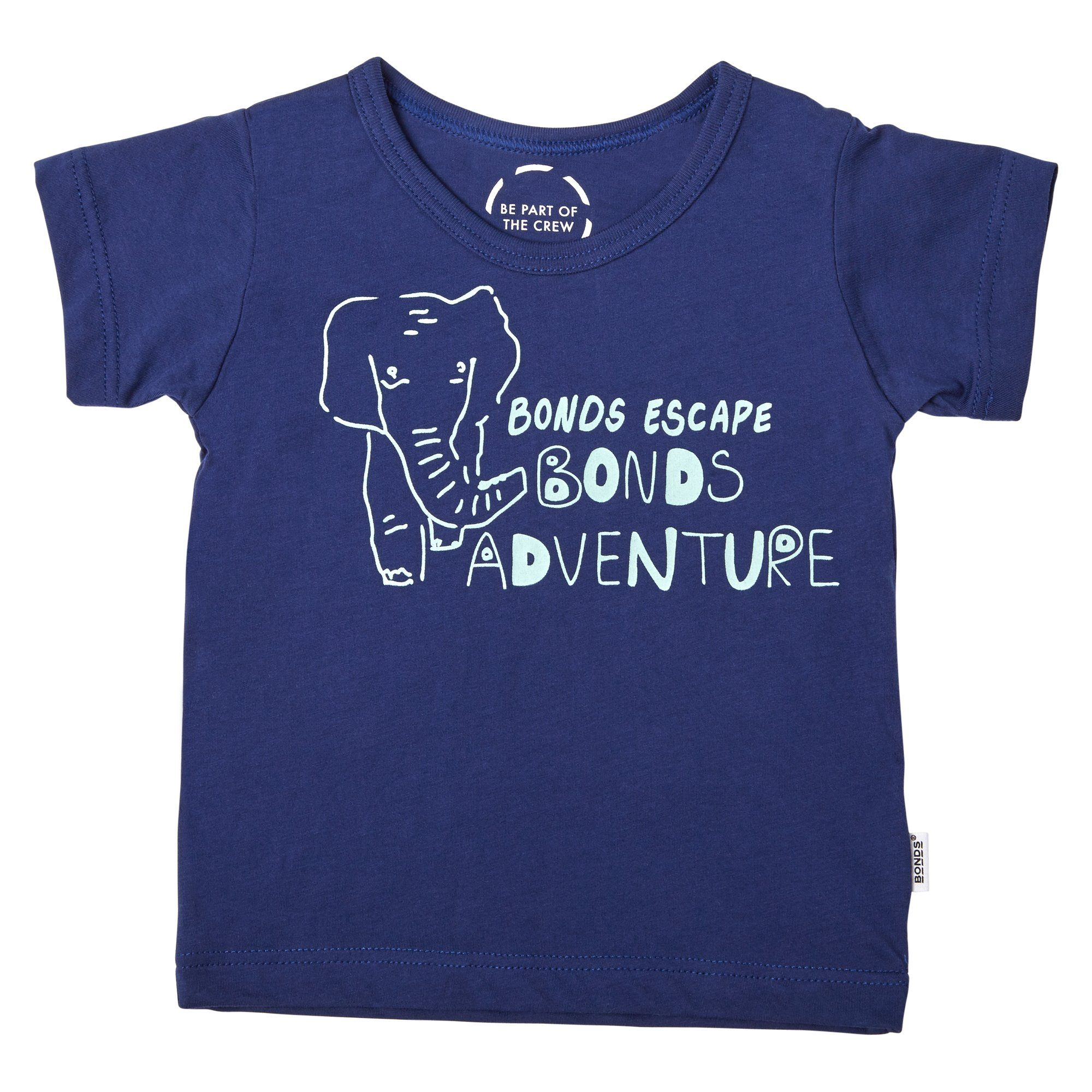 Bonds Baby The Crew Tee Adventure Print Navy Baby Isbister & Co Wholesale
